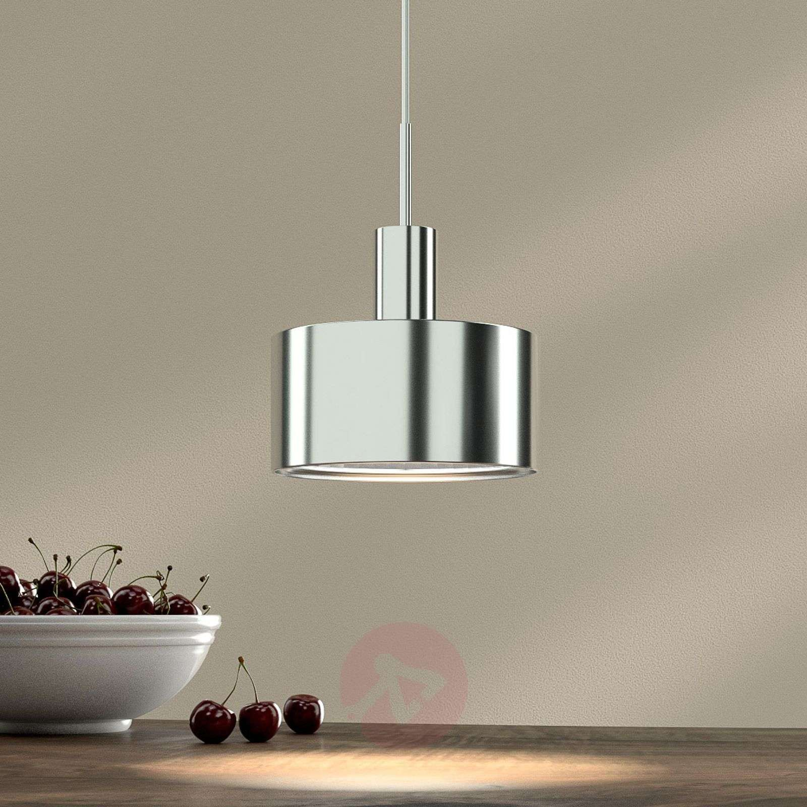 1-bulb pendant light AX20, chrome plated-1088038-01
