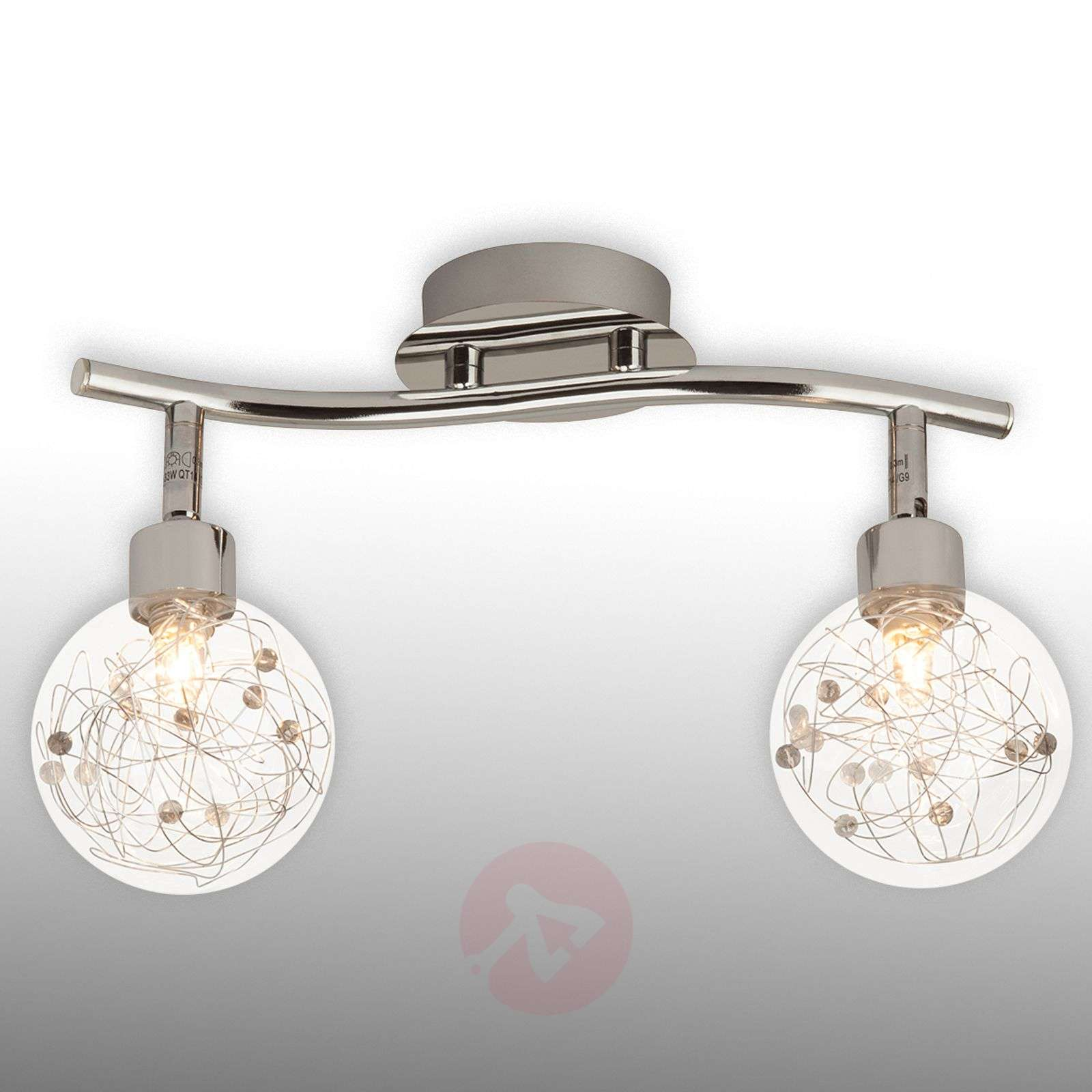 2-bulb ceiling light Joya-1509045-01