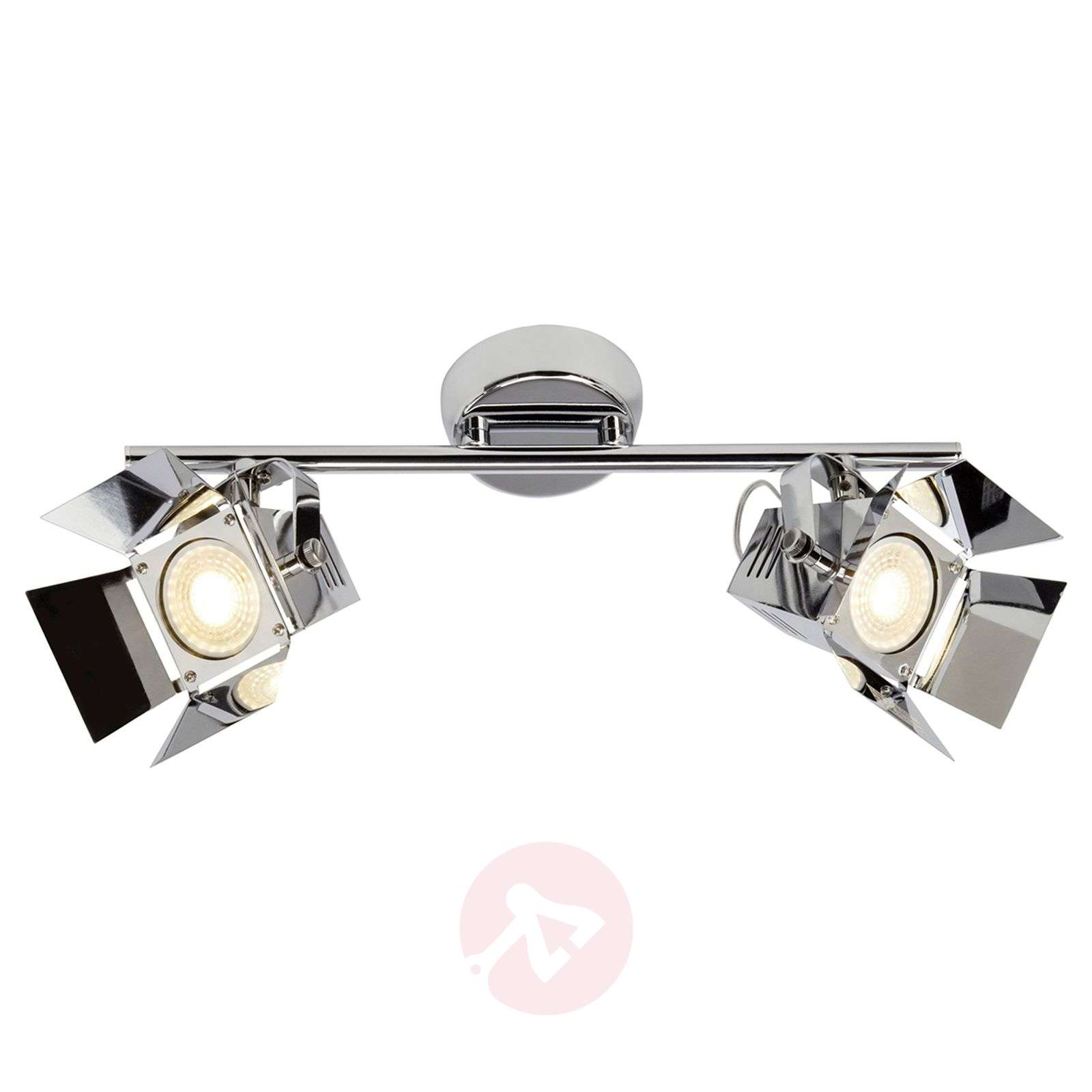 2 bulb led spotlight ceiling light movie lights 2 bulb led spotlight ceiling light movie chrome 1509129 01 aloadofball Image collections