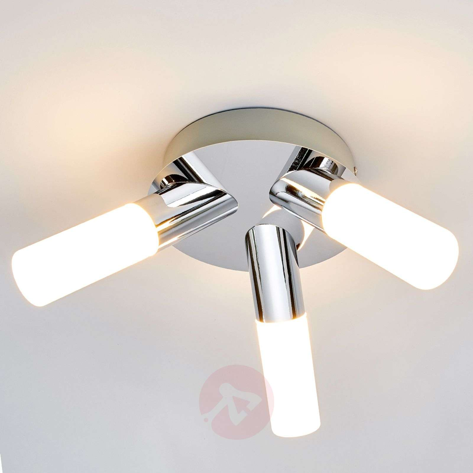 bathroom led ceiling lights 3 light benaja led bathroom ceiling lamp lights co uk 16038