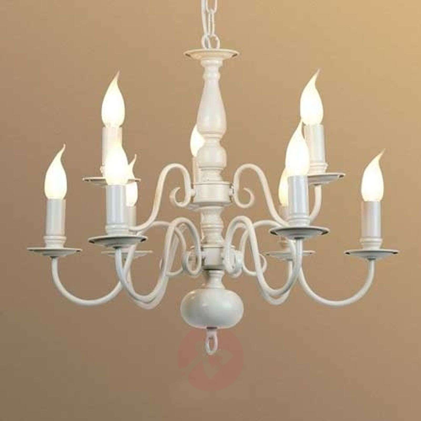 9-bulb MAYRA chandelier in a country house style-1032221-01