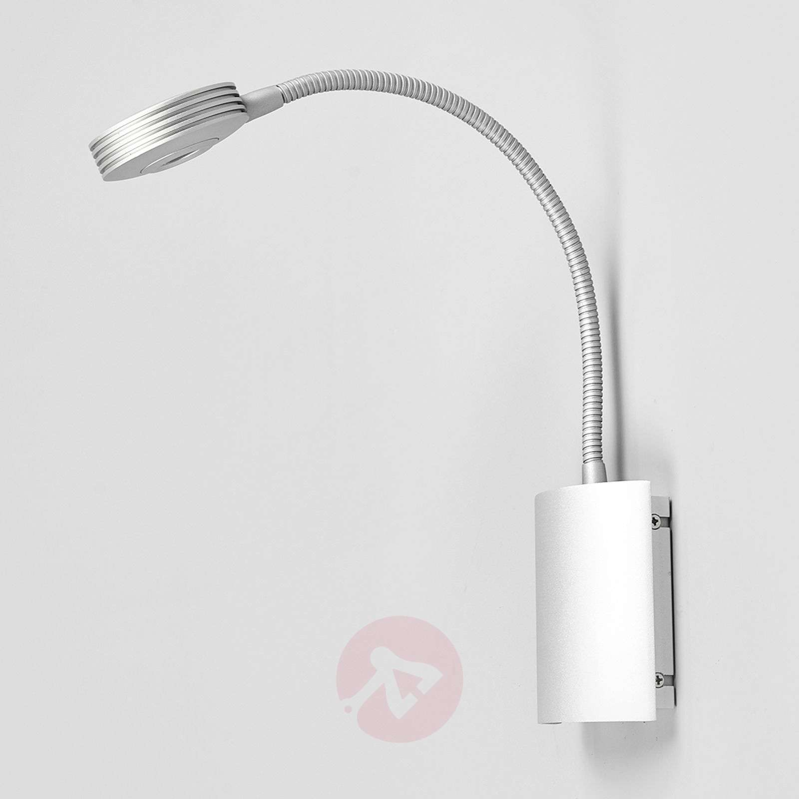 Adjustable wall light adina with led flexible arm lights adjustable wall light adina with led flexible arm 9976004 07 mozeypictures Images