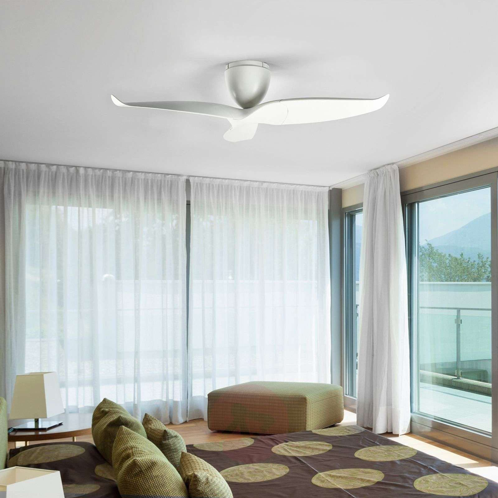 Buy Ceiling Fans without Lighting online from Lights