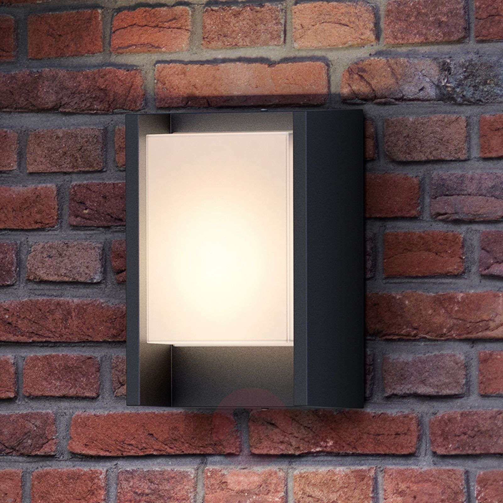 Anthracite-coloured LED outdoor wall light Arbour | Lights ... on Led Wall id=13756