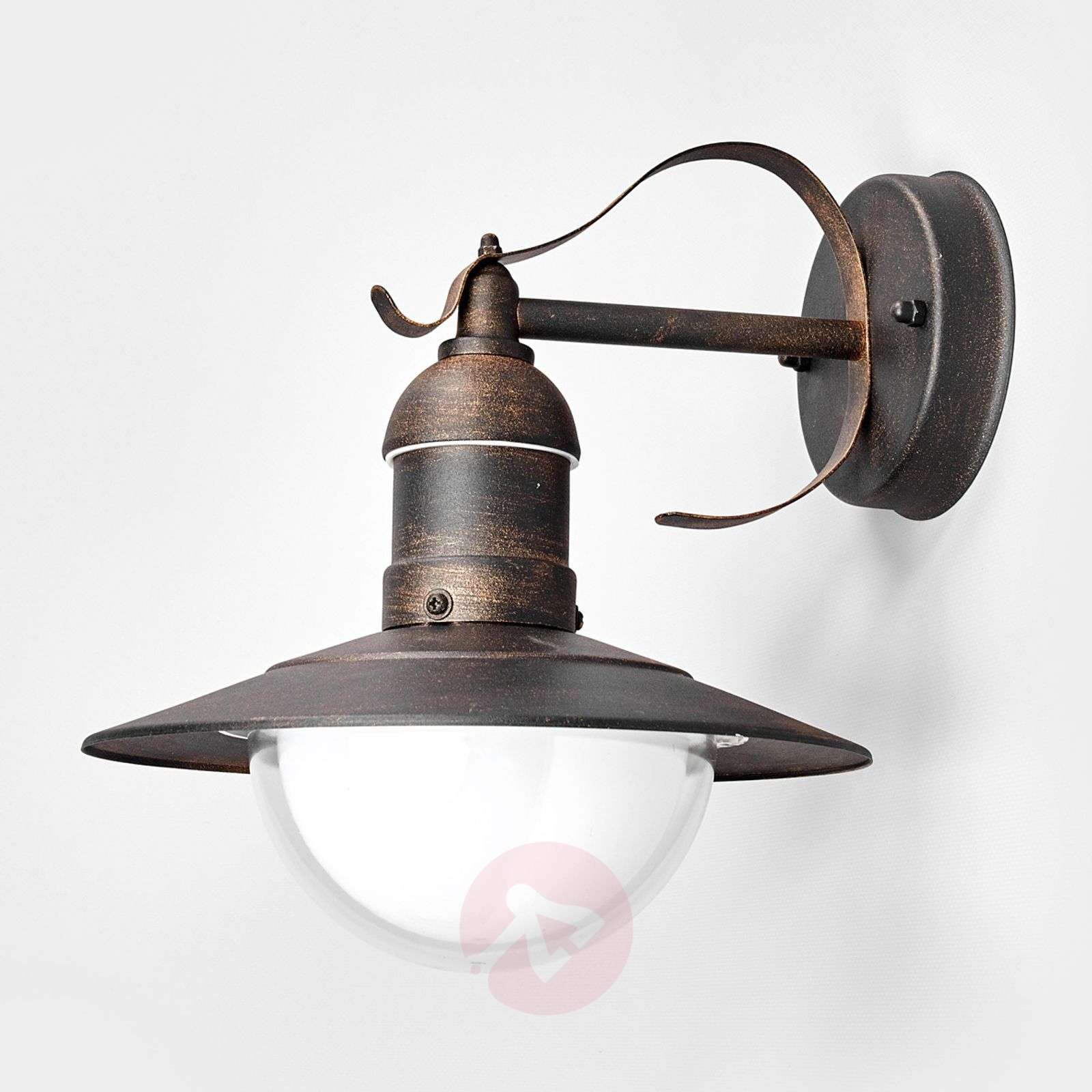Outdoor Wall Lights Uk: Antique-looking LED Outdoor Wall Light Clea