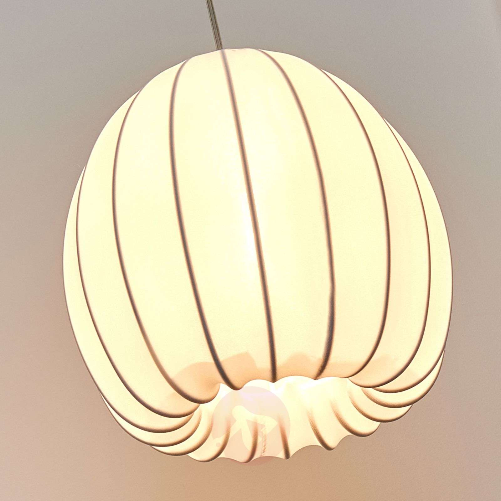 c354a66fcd5 Axolight Muse hanging light in white, 25 cm-1088051-01 ...