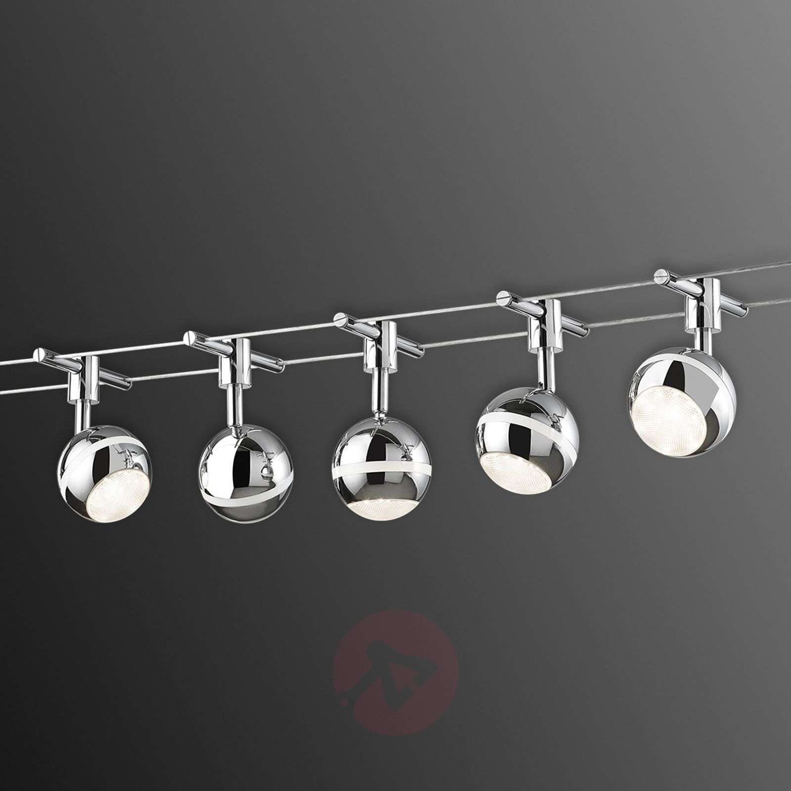 Cable lighting lights baloubet led cable system in chrome aloadofball Images