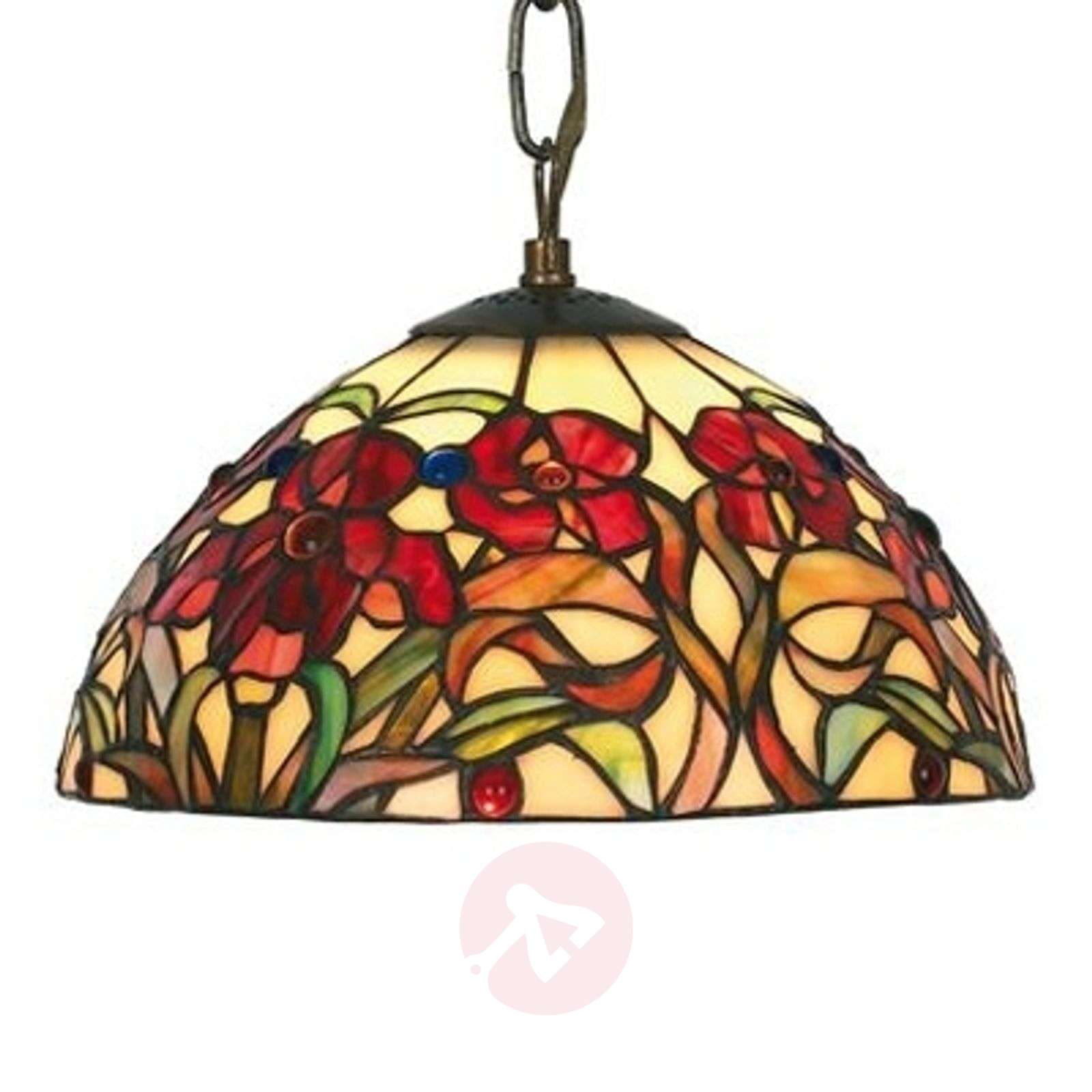 Beautiful hanging light Eline in Tiffany style-1032168-01