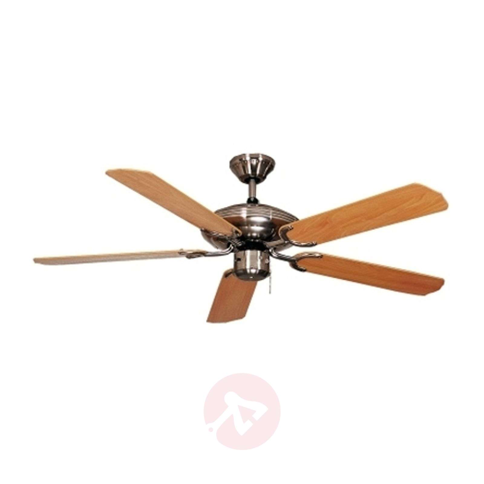 Beech coloured steel star ceiling fan 103 cm lights beech coloured steel star ceiling fan 103 cm 2513024 01 aloadofball Gallery