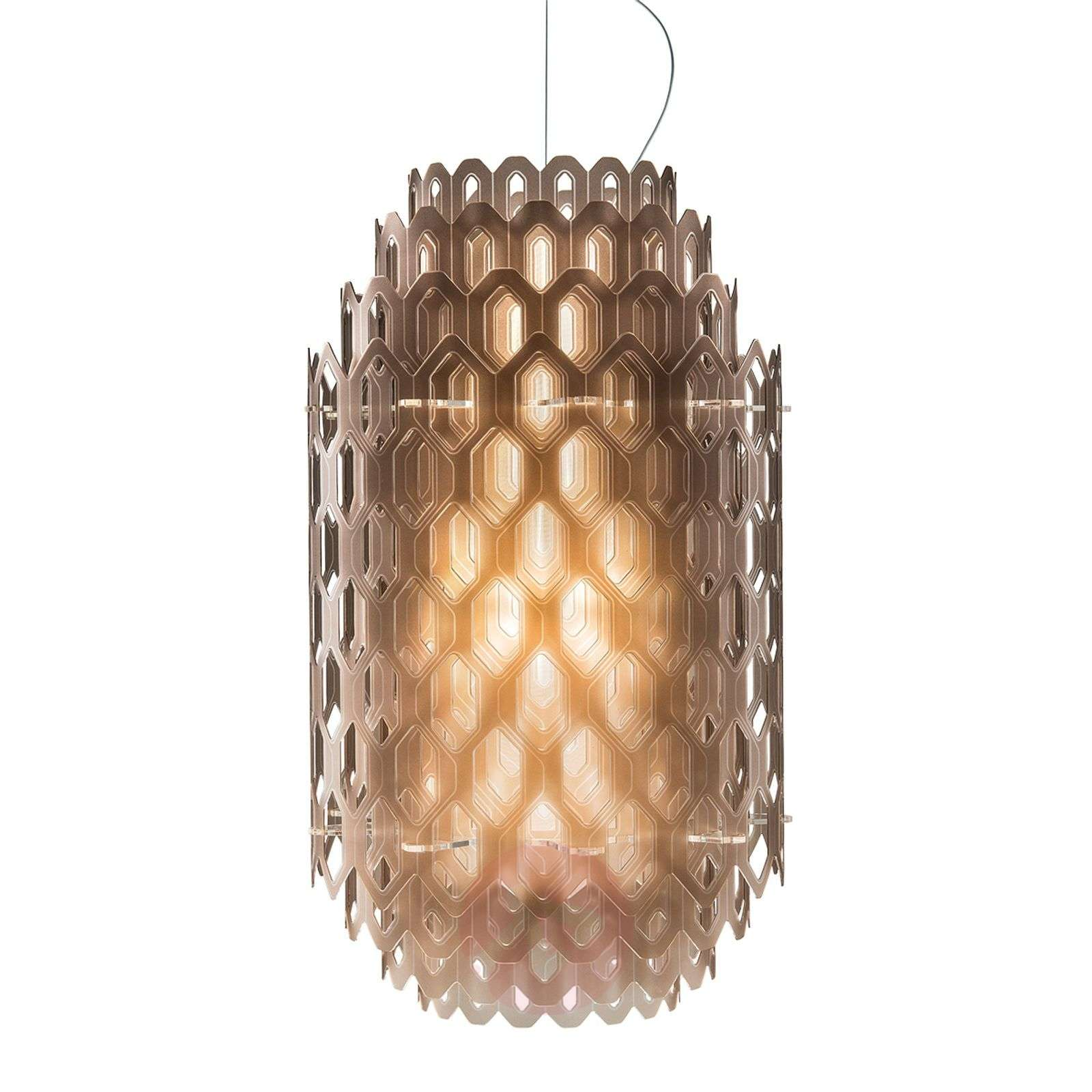 Chantal designer hanging light with LED | Lights.co.uk
