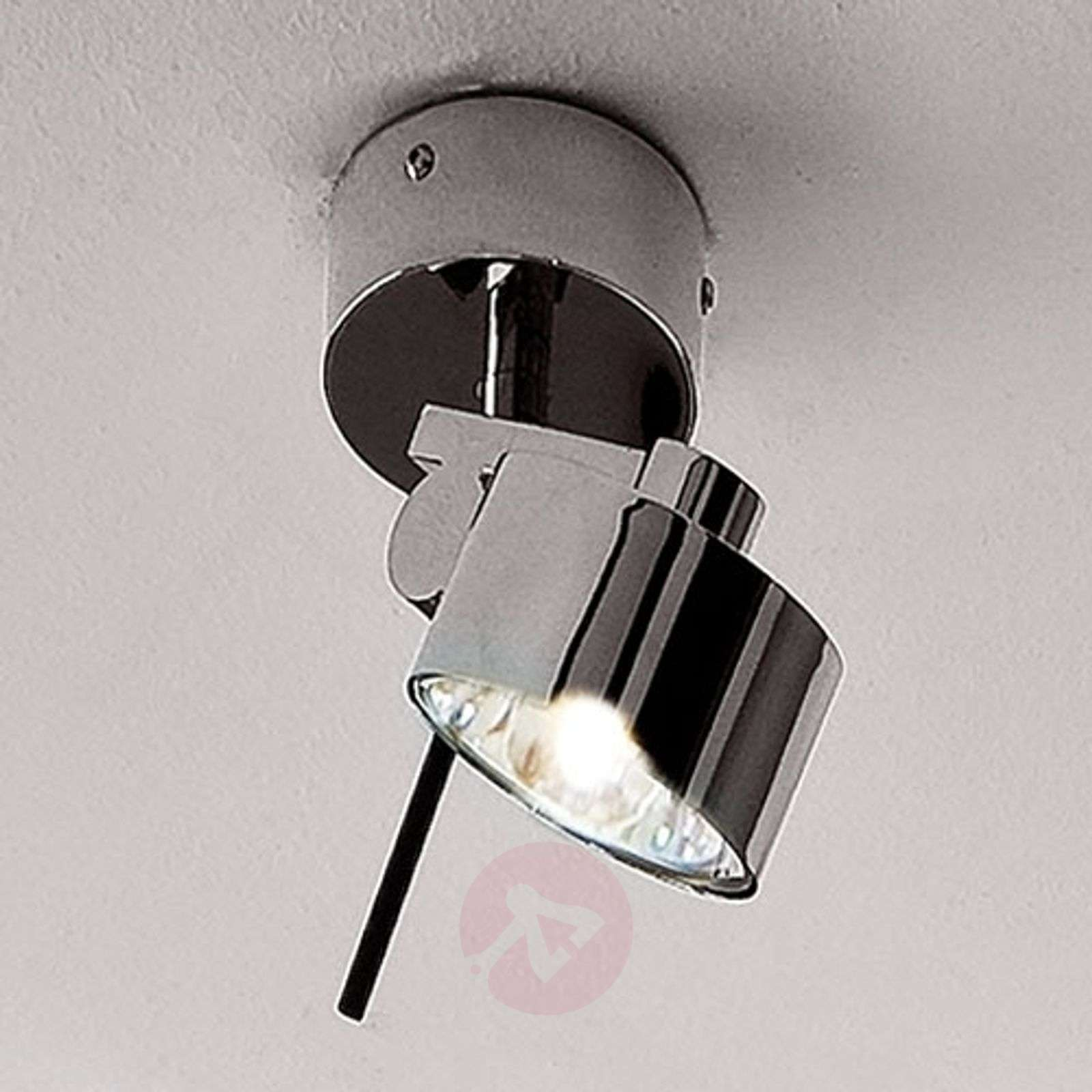 Chrome-plated wall and ceiling spotlight AX20-1088037-01