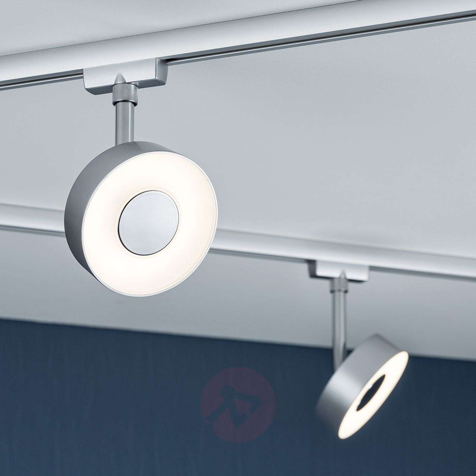 Track Lighting Systems Reviews: Circle LED Spotlight For U-Rail Track System