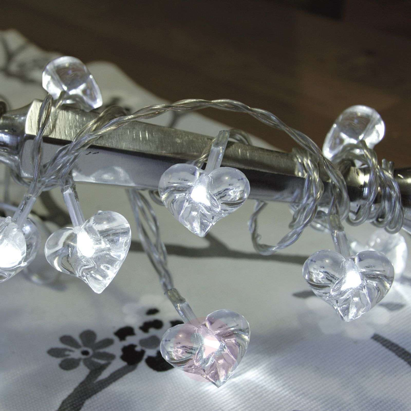 Clear LED string lights Small Hearts 10-piece-1522631-01