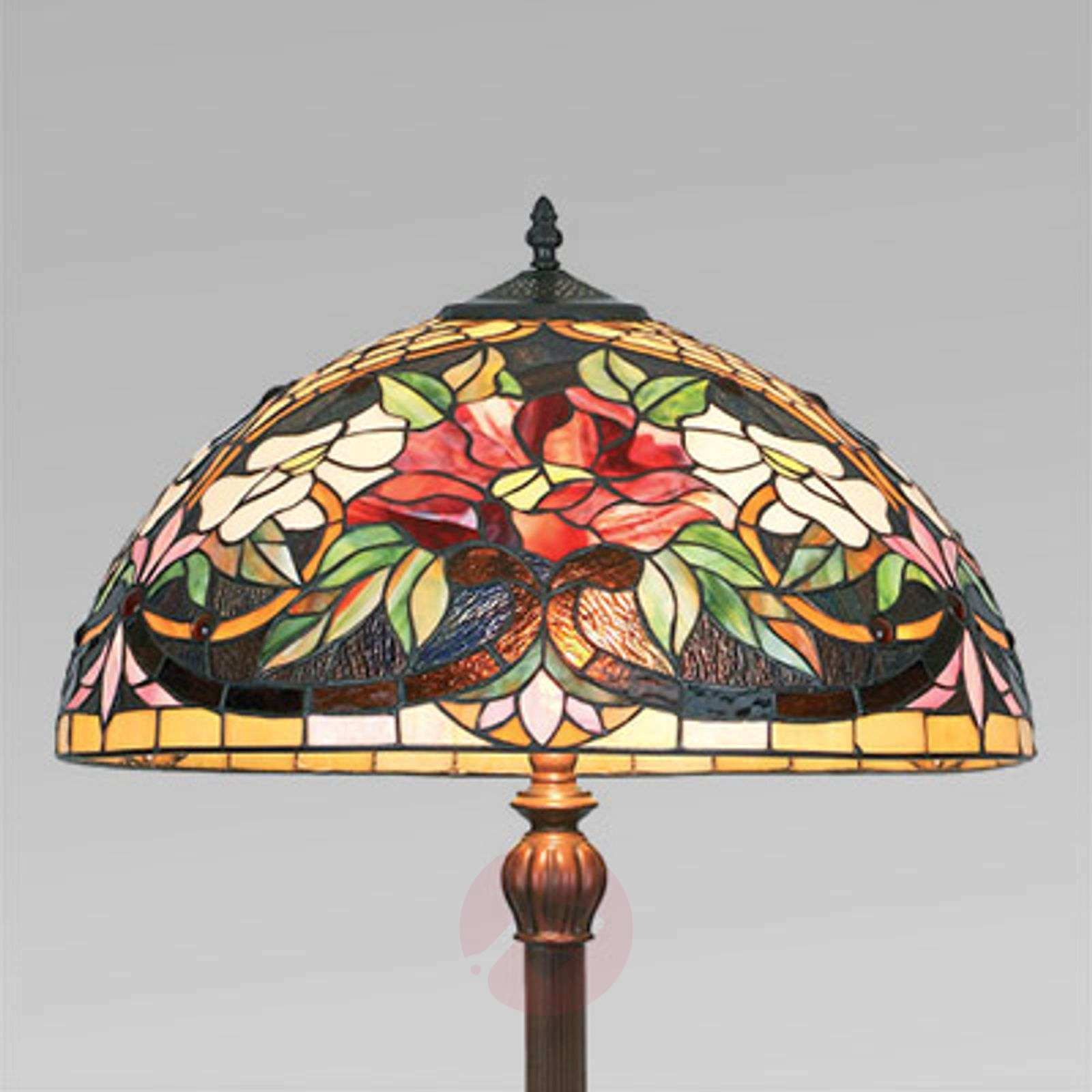 Colourful floor lamp ARIADNE in the Tiffany style-1032147-02