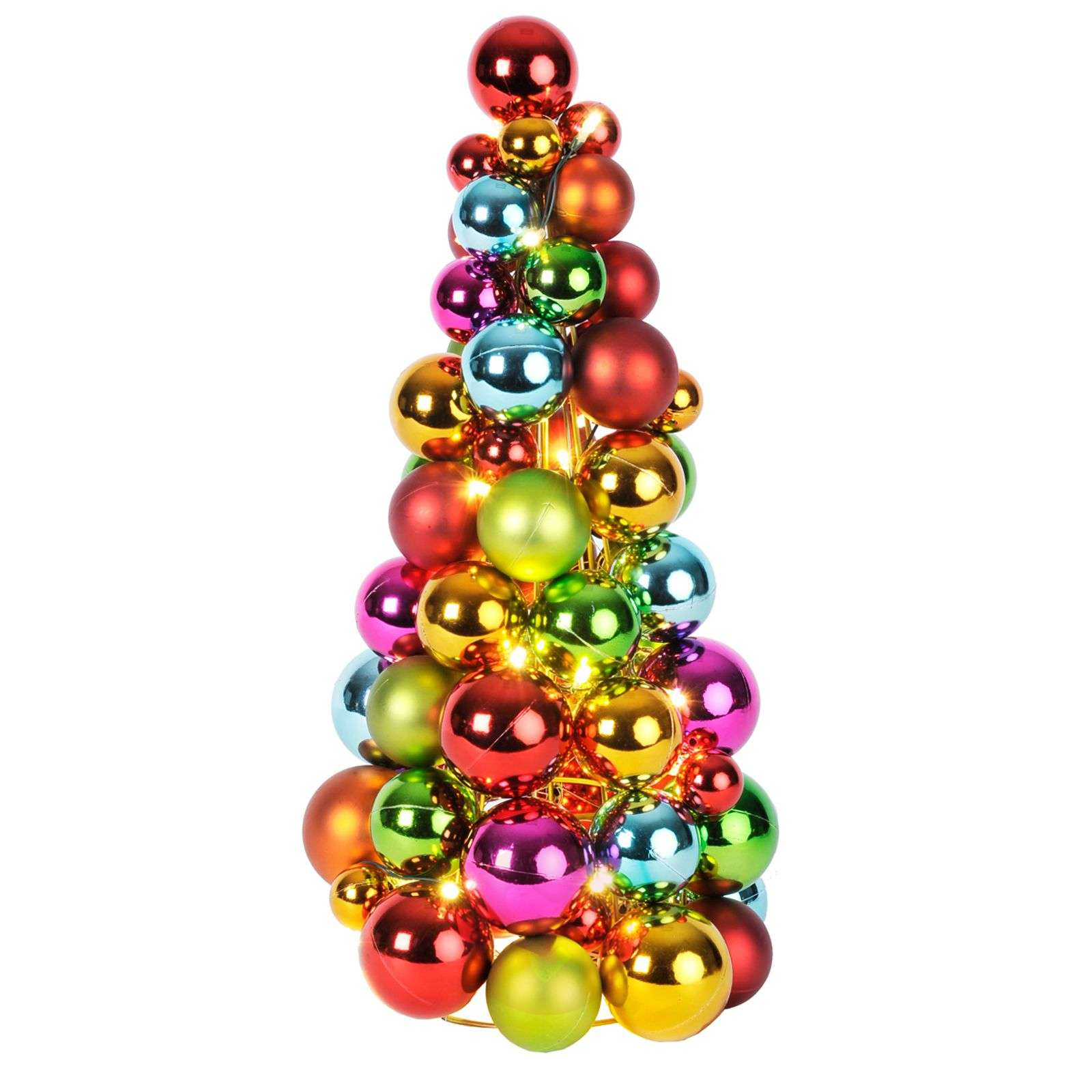 Colourful LED skittles ball Cone-1522507-01