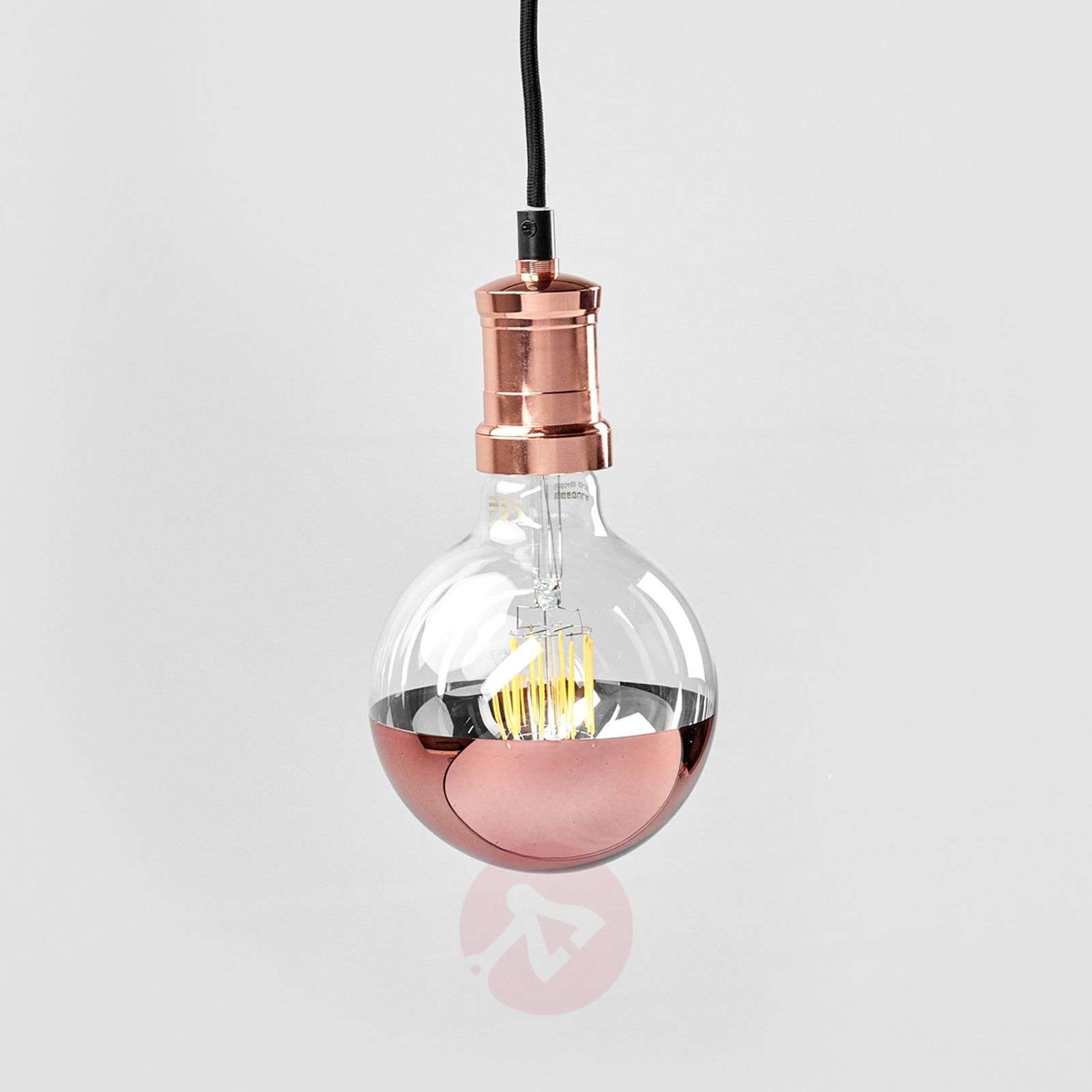 Chicago Lighting Company: Copper-coloured LED Hanging Light Chicago