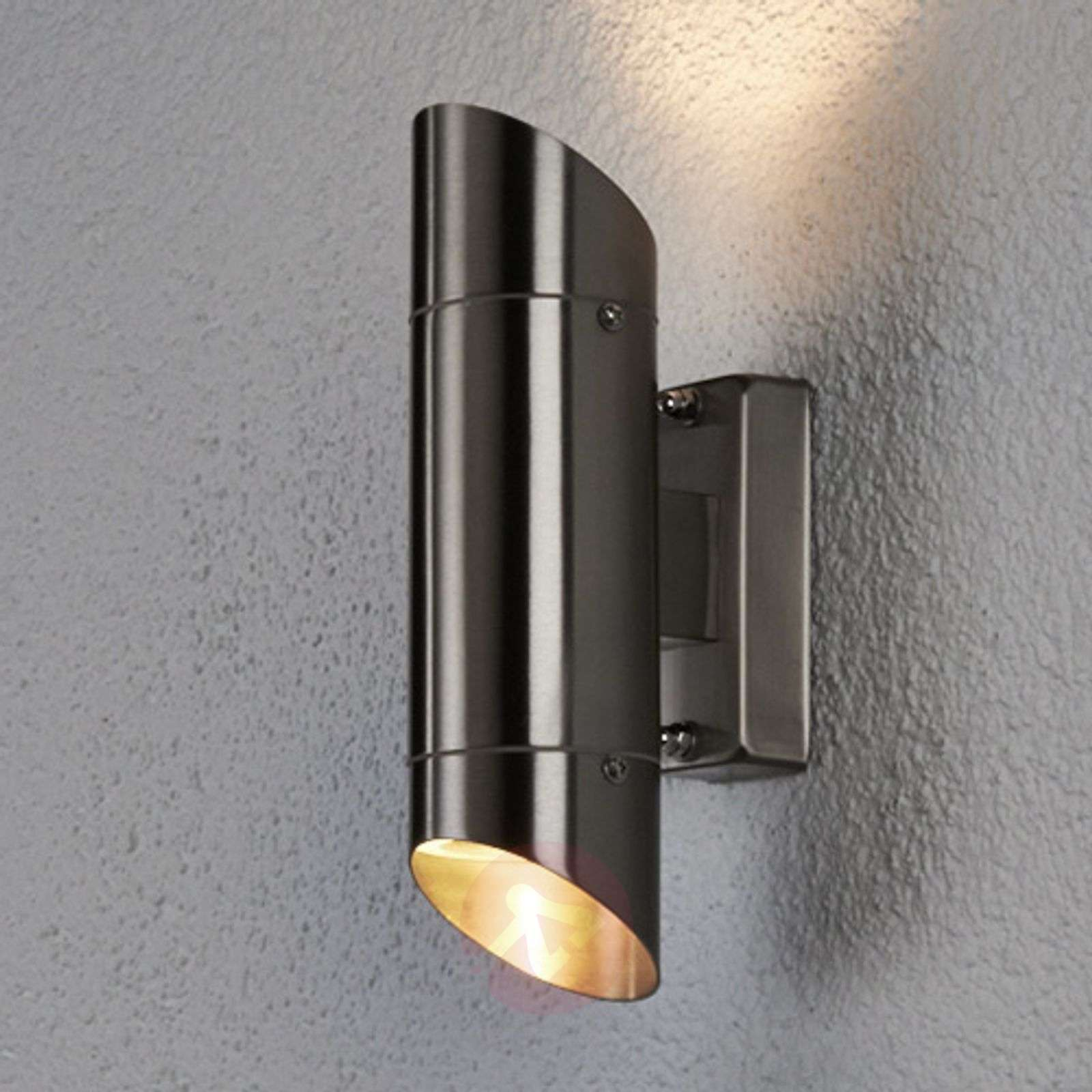 Cosia outside wall light stainless steel lights cosia outside wall light stainless steel 9630011 01 aloadofball