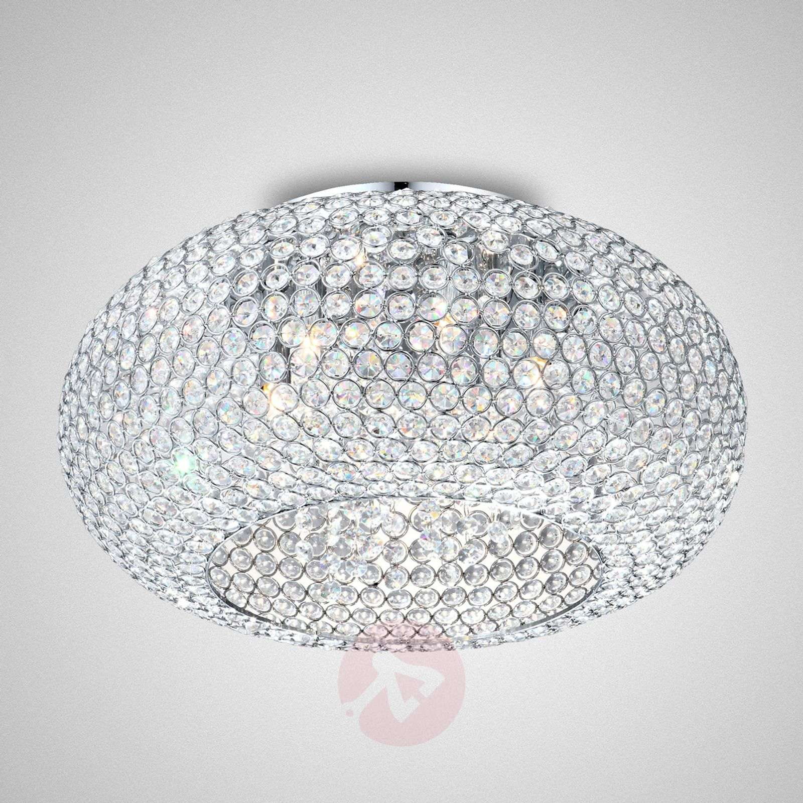 Great Crystal Ceiling Light Emilia 4014614 01