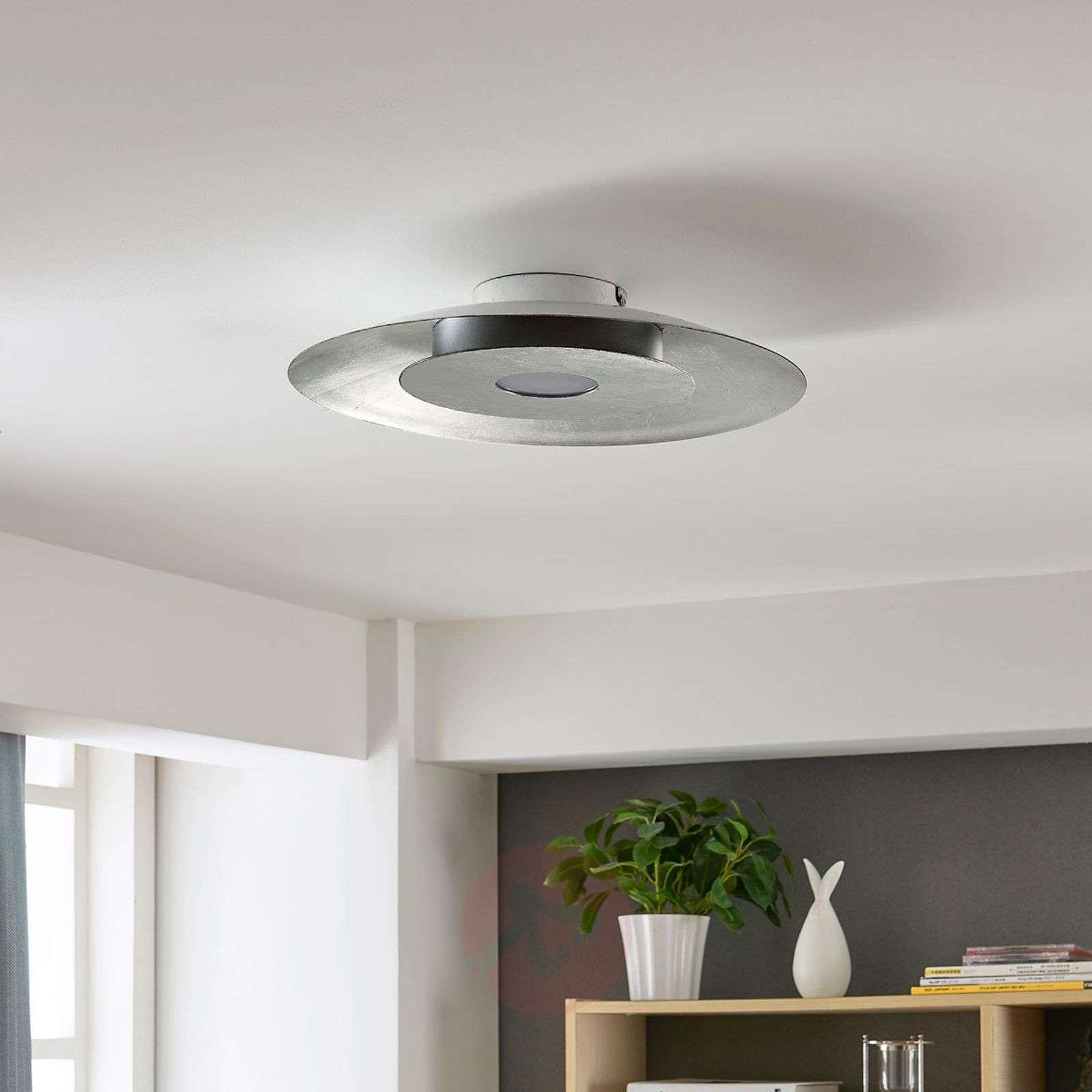 Daris led ceiling light with silver foil lights daris led ceiling light with silver foil 9621118 02 aloadofball Gallery