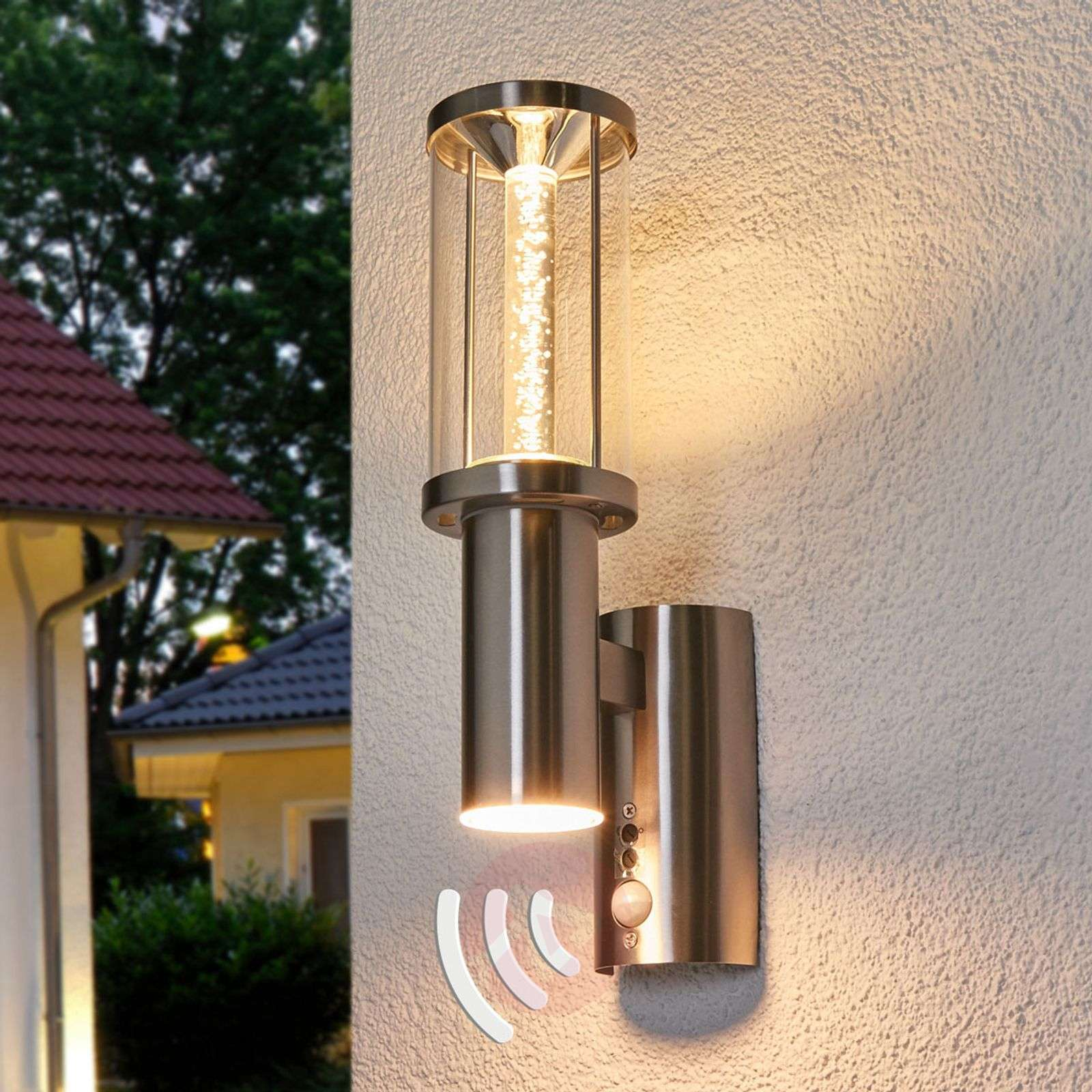 Outdoor Decorative Lights: Decorative LED Outdoor Light Trono Stick With PIR