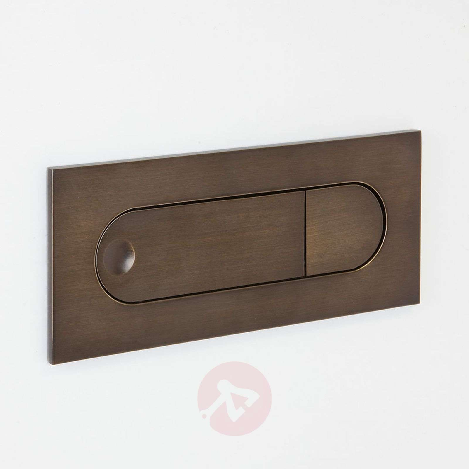 Digit LED Wall Light with Reading Arm Bronzed-1020478-03