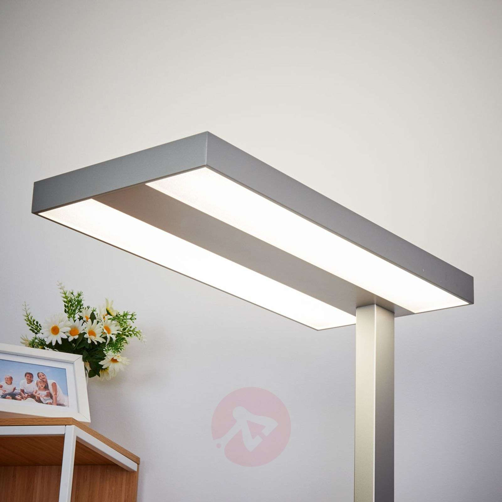 ... Dimmable LED Office Floor Lamp Logan 9968003 02 ...