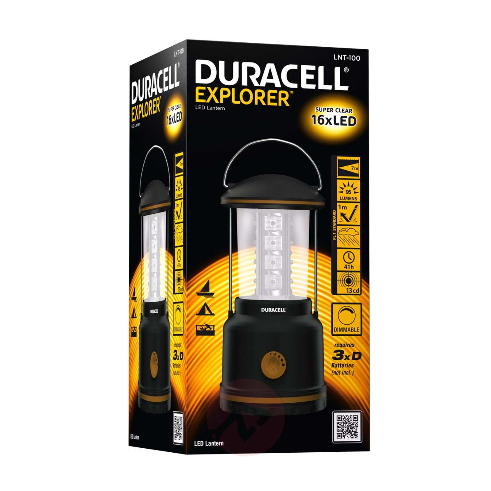 Dimmable LNT-100 LED camping lantern-2610023-01