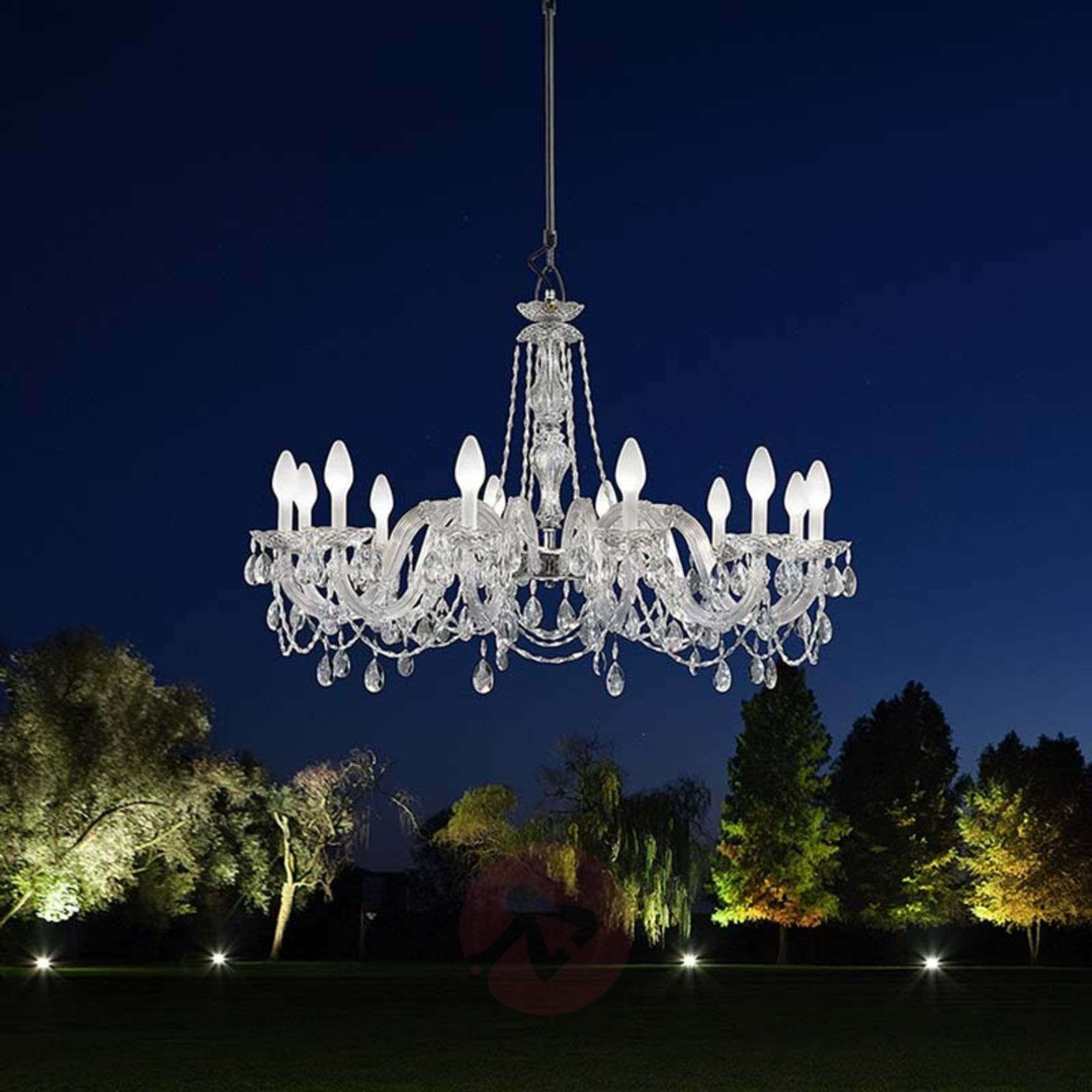 Drylight s12 12 bulb outdoor led chandelier lights drylight s12 12 bulb outdoor led chandelier 6517245 01 aloadofball Gallery