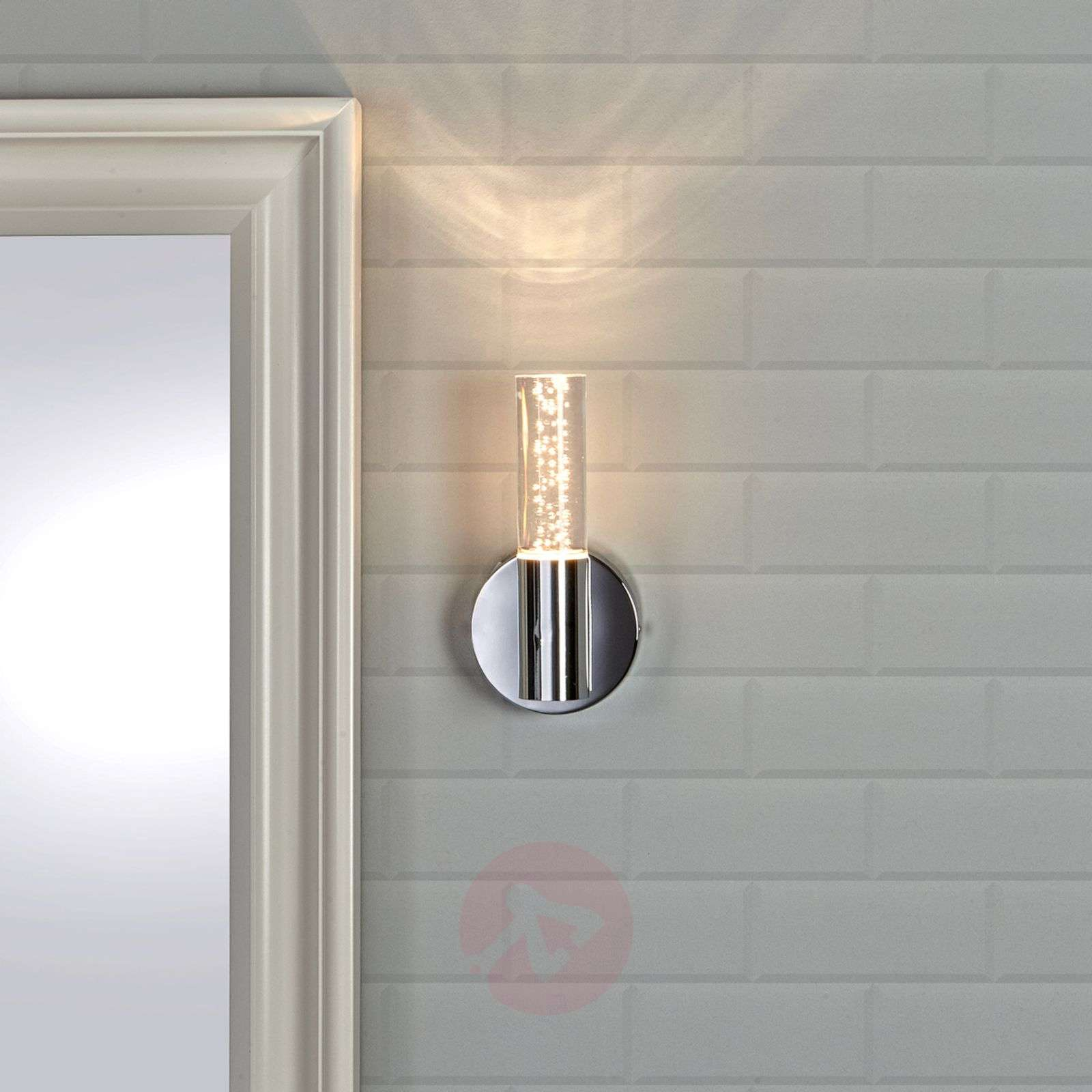 Led Bathroom Wall Lights Uk: Duncan Decorative Bathroom Wall Light With LED