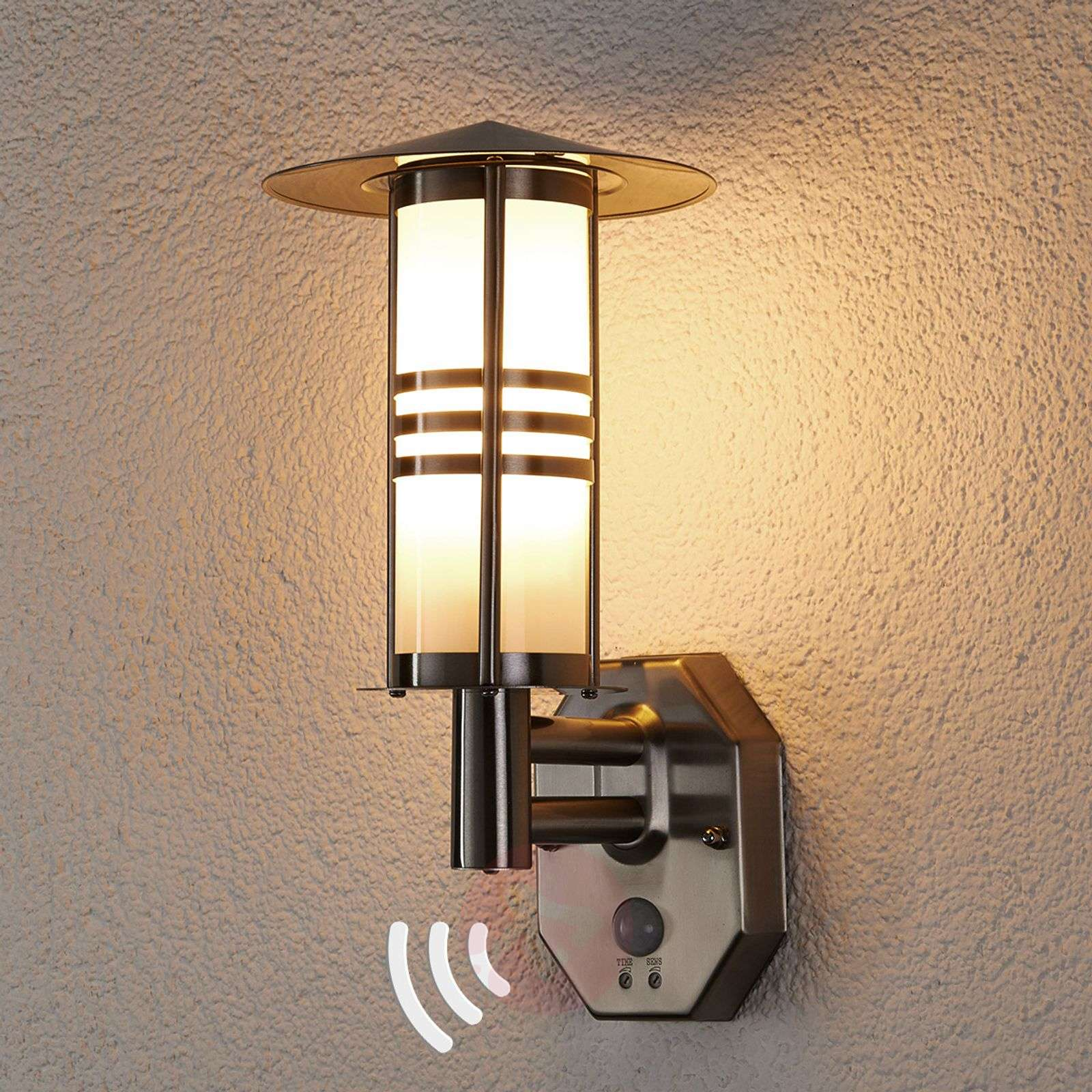 Erina Motion Detector Outdoor Wall Lamp-9960014-01