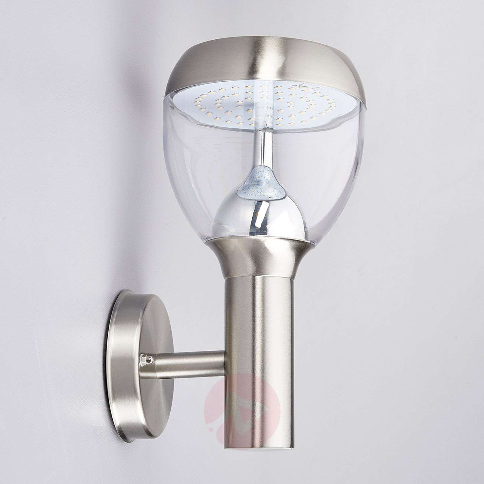 Etta LED outdoor wall light made of stainl. steel-9988023-02