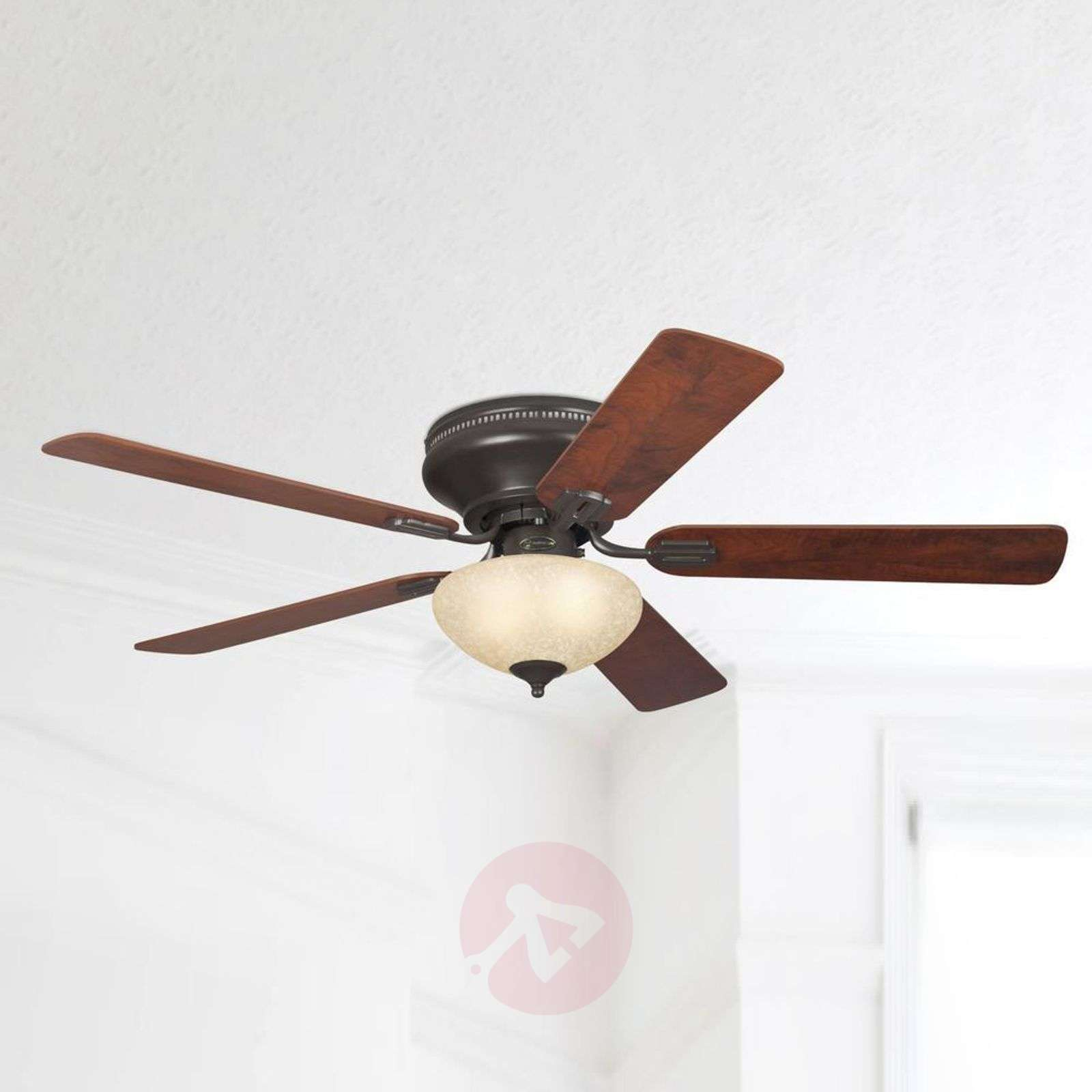 everett rustic ceiling fan with light. Black Bedroom Furniture Sets. Home Design Ideas