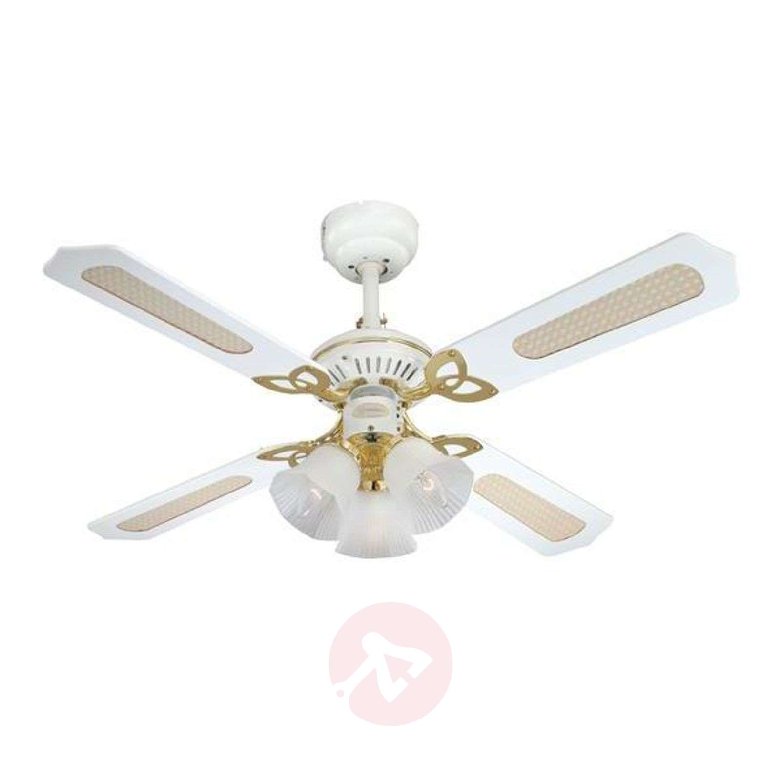 Exclusive Princess Trio Ceiling Fan In White 9602167 05