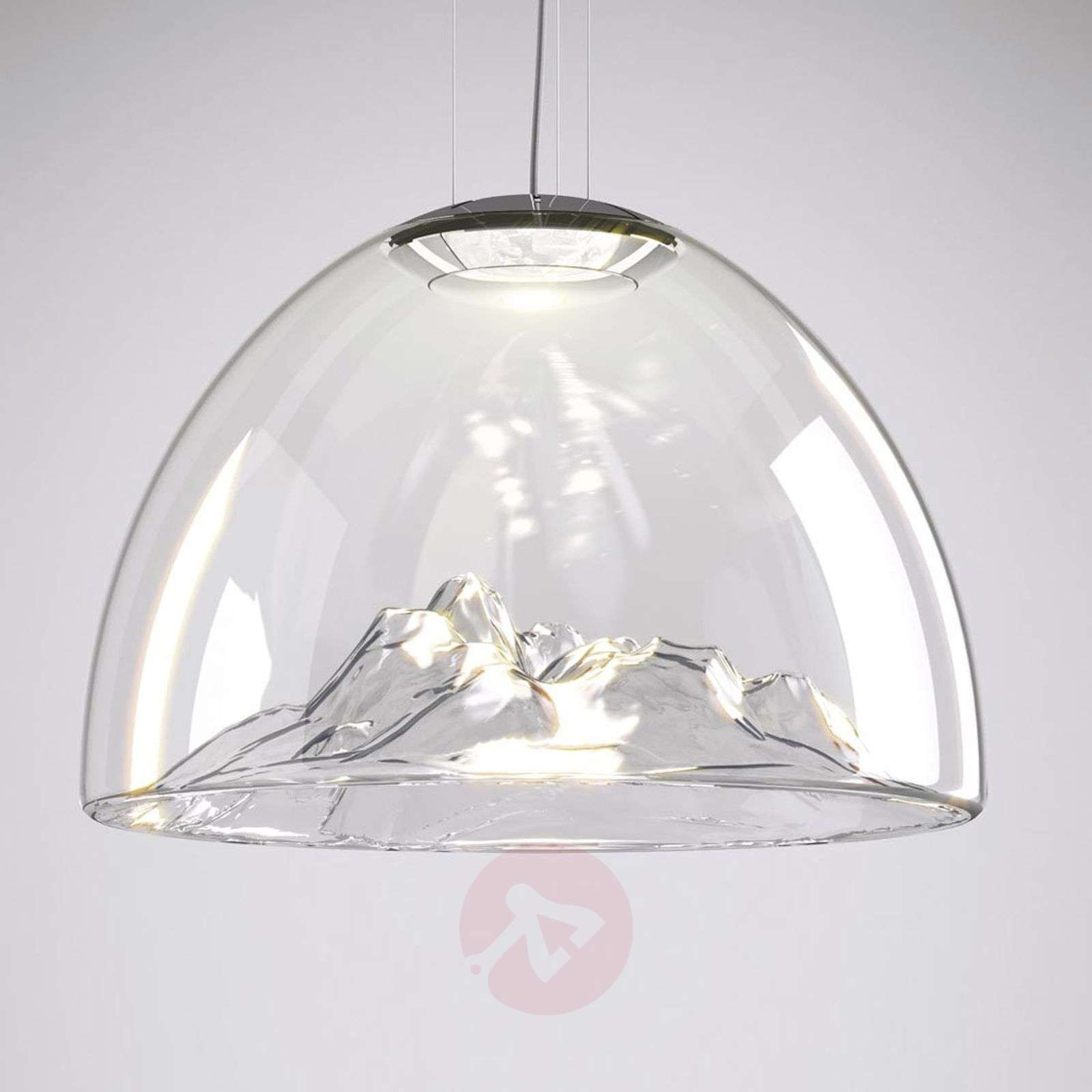 exquisite lighting. Exquisite LED Designer Hanging Lamp Mountain View-1088071-02 Lighting I