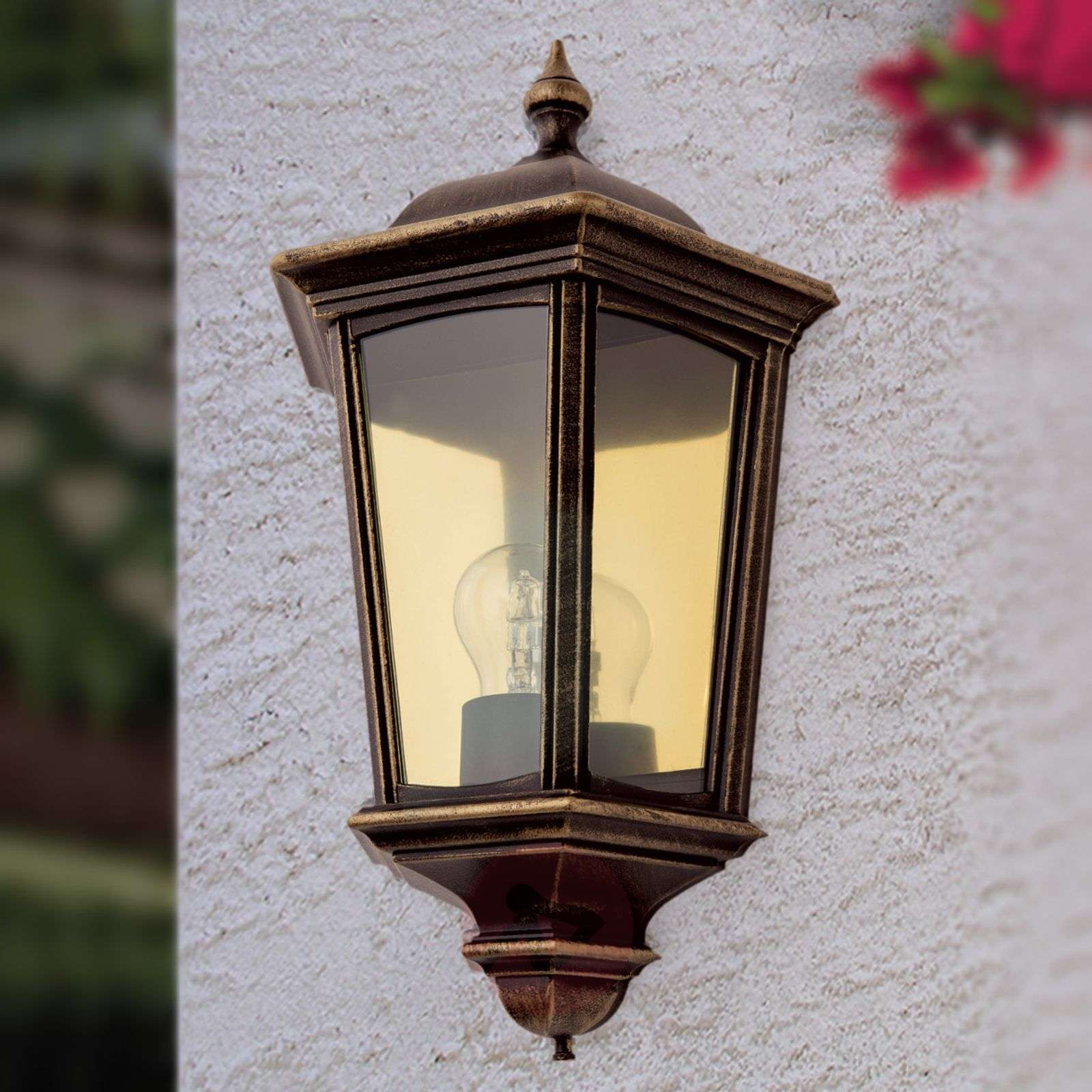 Vintage Reclaimed Wall Lights : Fabio Outside Wall Light Antique Direct Lights.co.uk