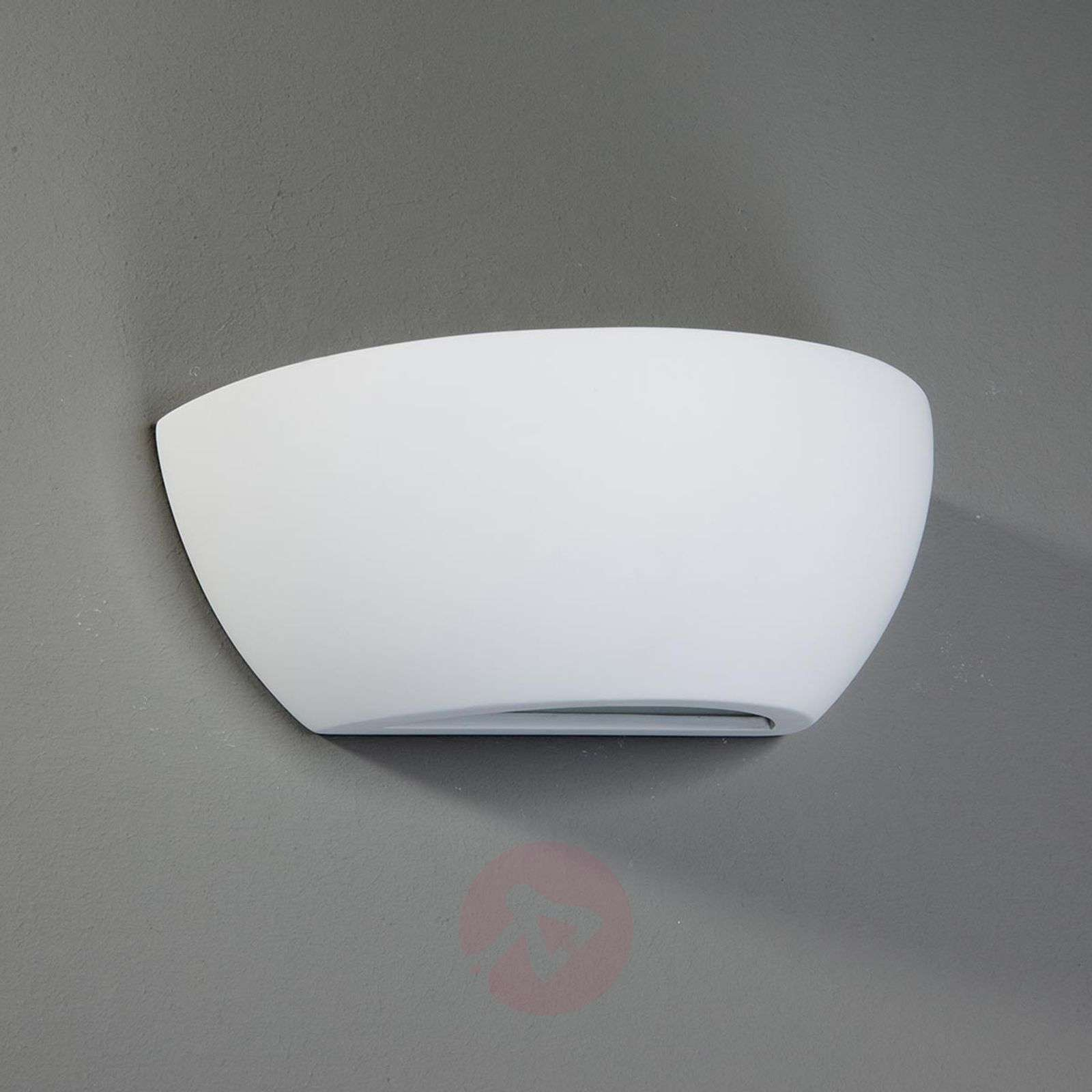 Felia - Wall Light Elegant Plaster White Lights.co.uk