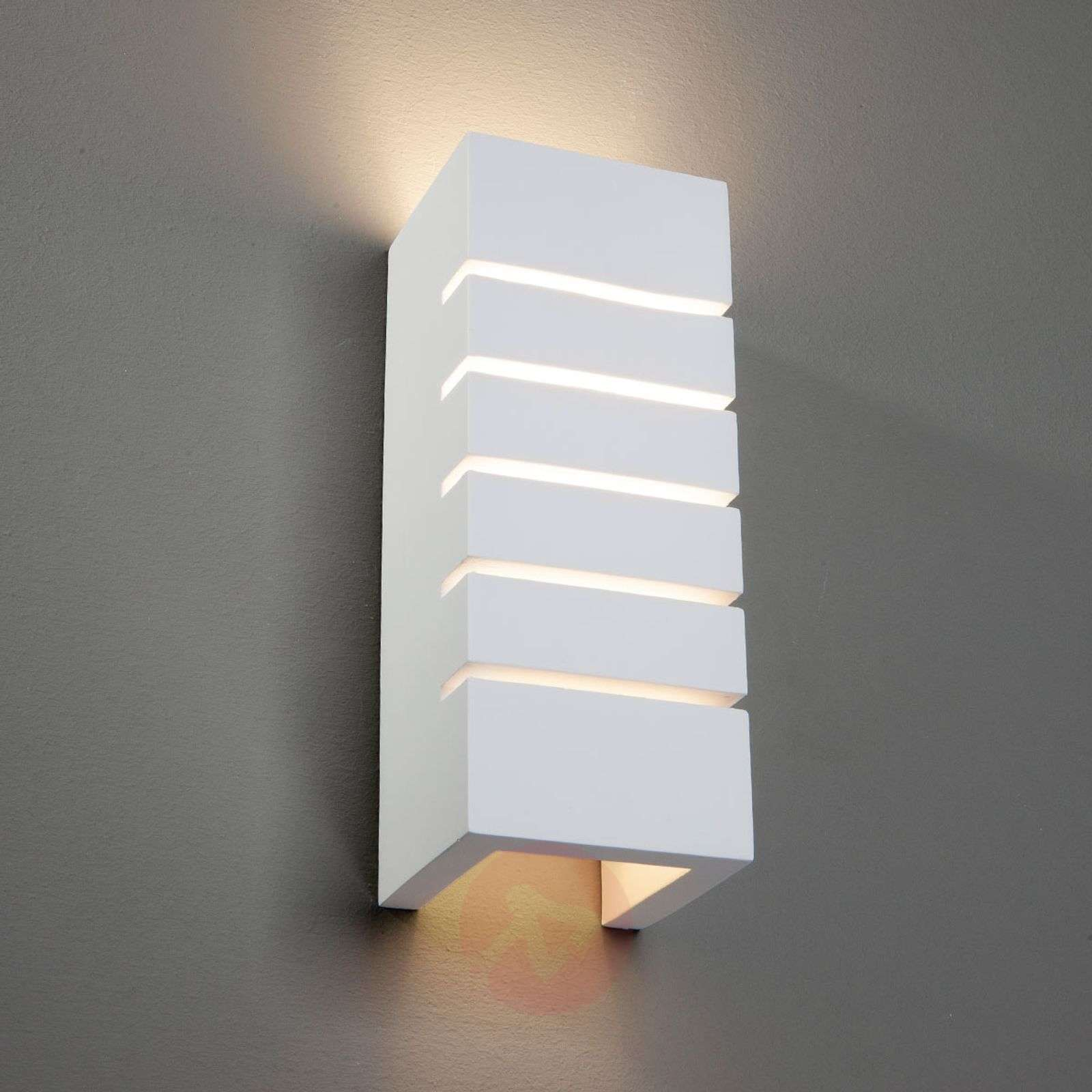 Indirect Wall Lighting flavian - indirect wall light with slots | lights.co.uk
