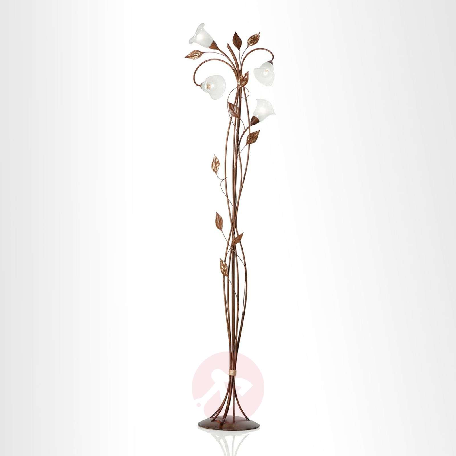Florentia floor lamp with murano glass flowers lights florentia floor lamp with murano glass flowers 6532100 01 arubaitofo Gallery