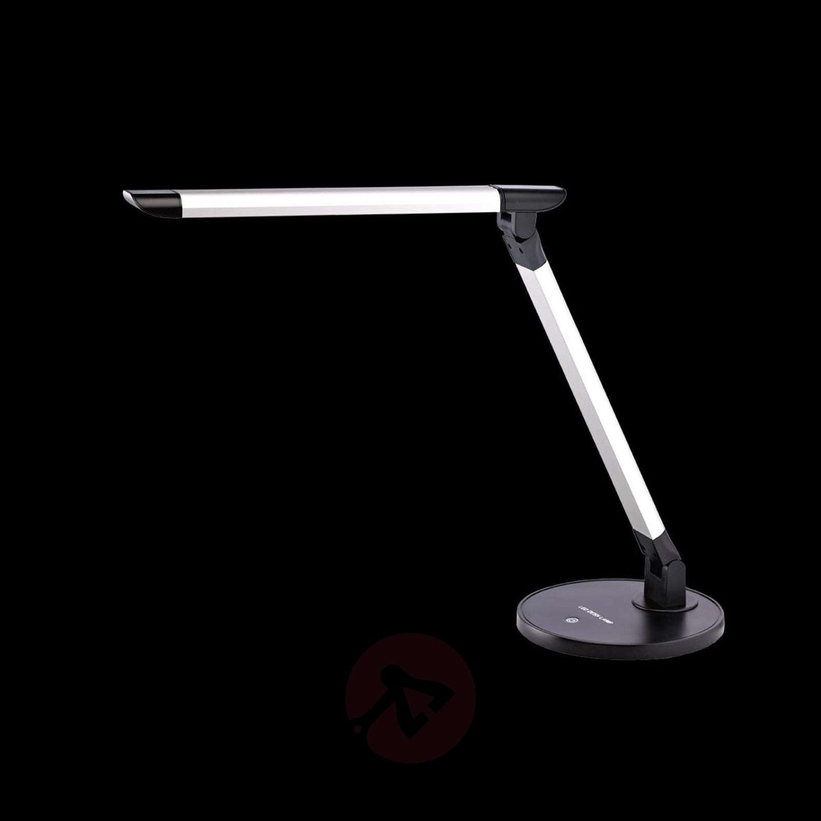 Foldable LED table lamp Chris with dimmer-1003140-01