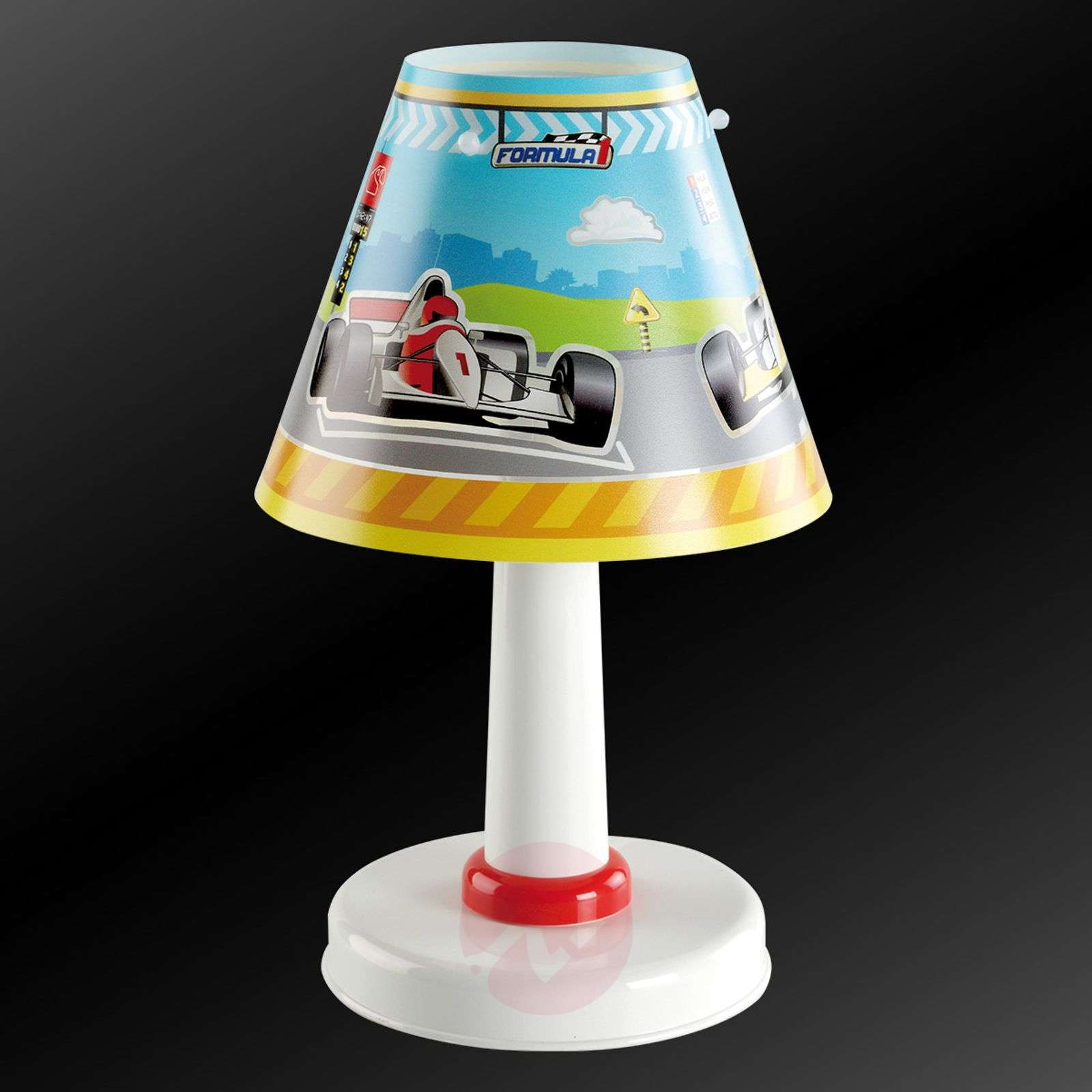 Formula 1 night stand lamp for a childs room-2507296-01