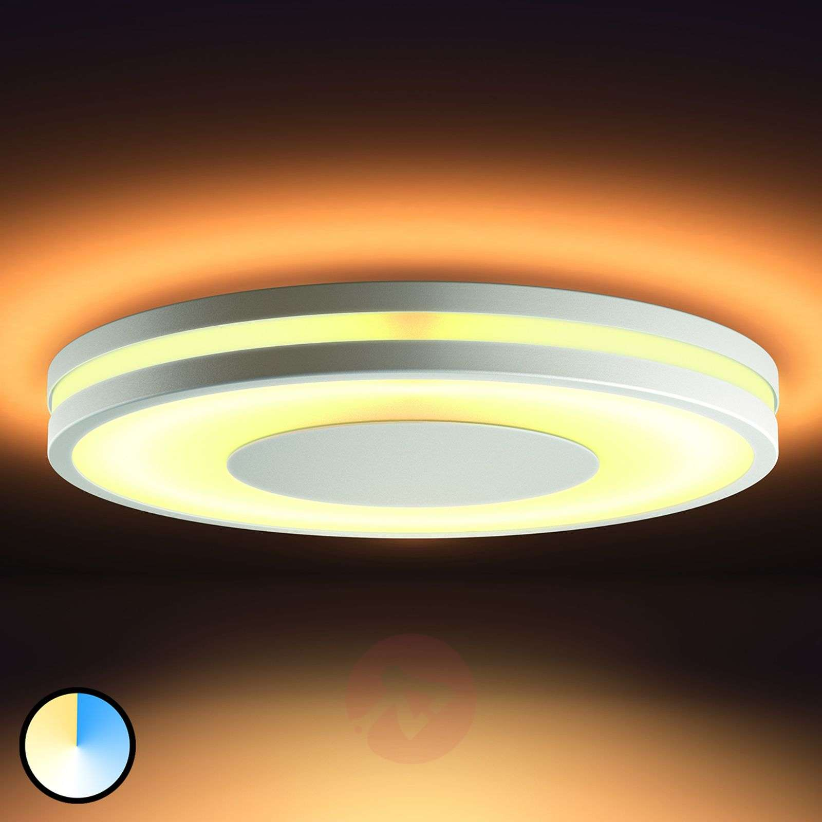 functional led ceiling lamp philips hue being. Black Bedroom Furniture Sets. Home Design Ideas