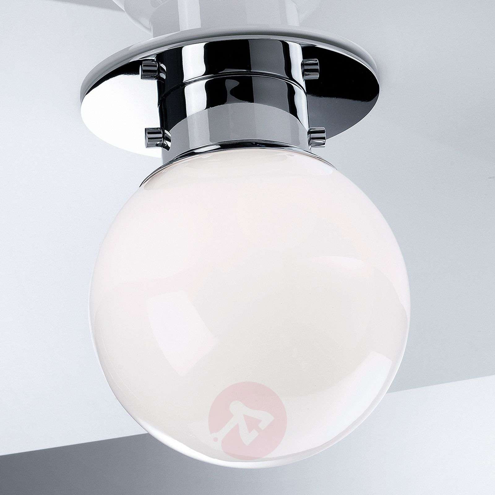 Globe classic spherical ceiling light chrome lights globe classic spherical ceiling light chrome 2504178 01 mozeypictures Image collections