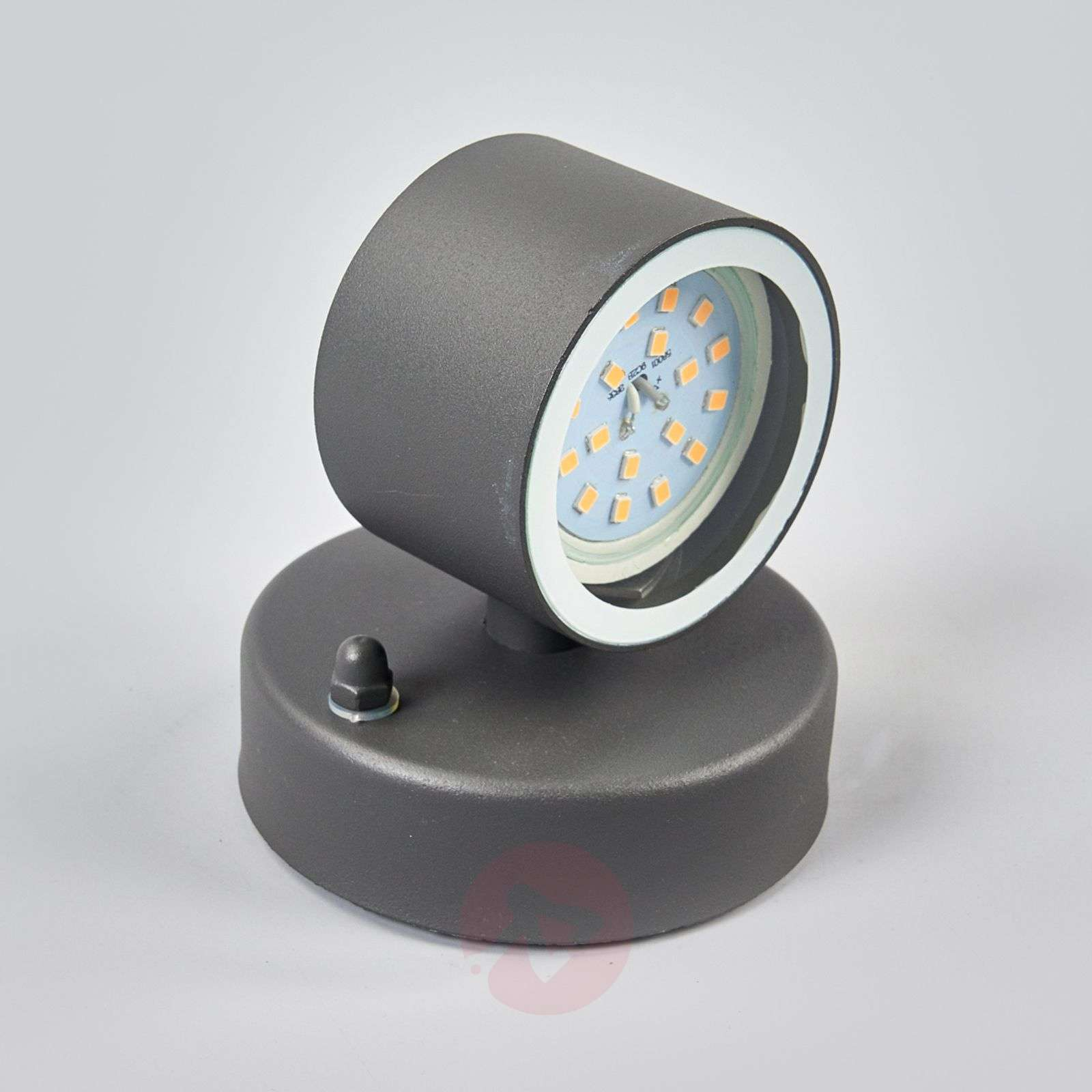 Graphite grey LED outdoor wall lamp Lexi-9977003-08