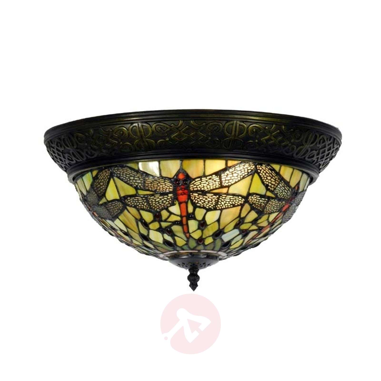Greene Ceiling Lamp In The Tiffany Style 6064142 01
