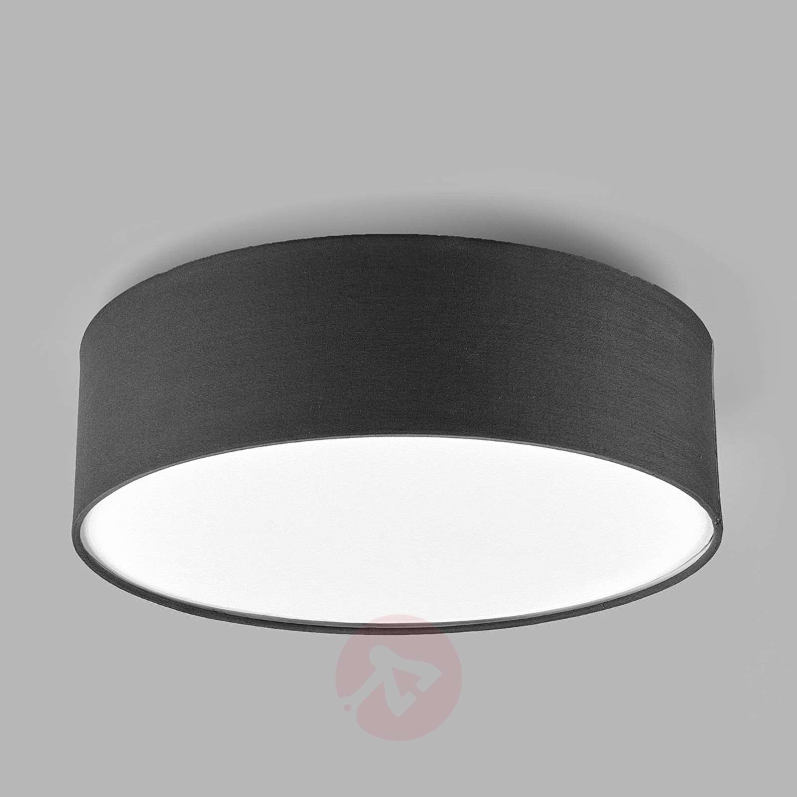 Grey fabric ceiling light Sebatin-9620334-01