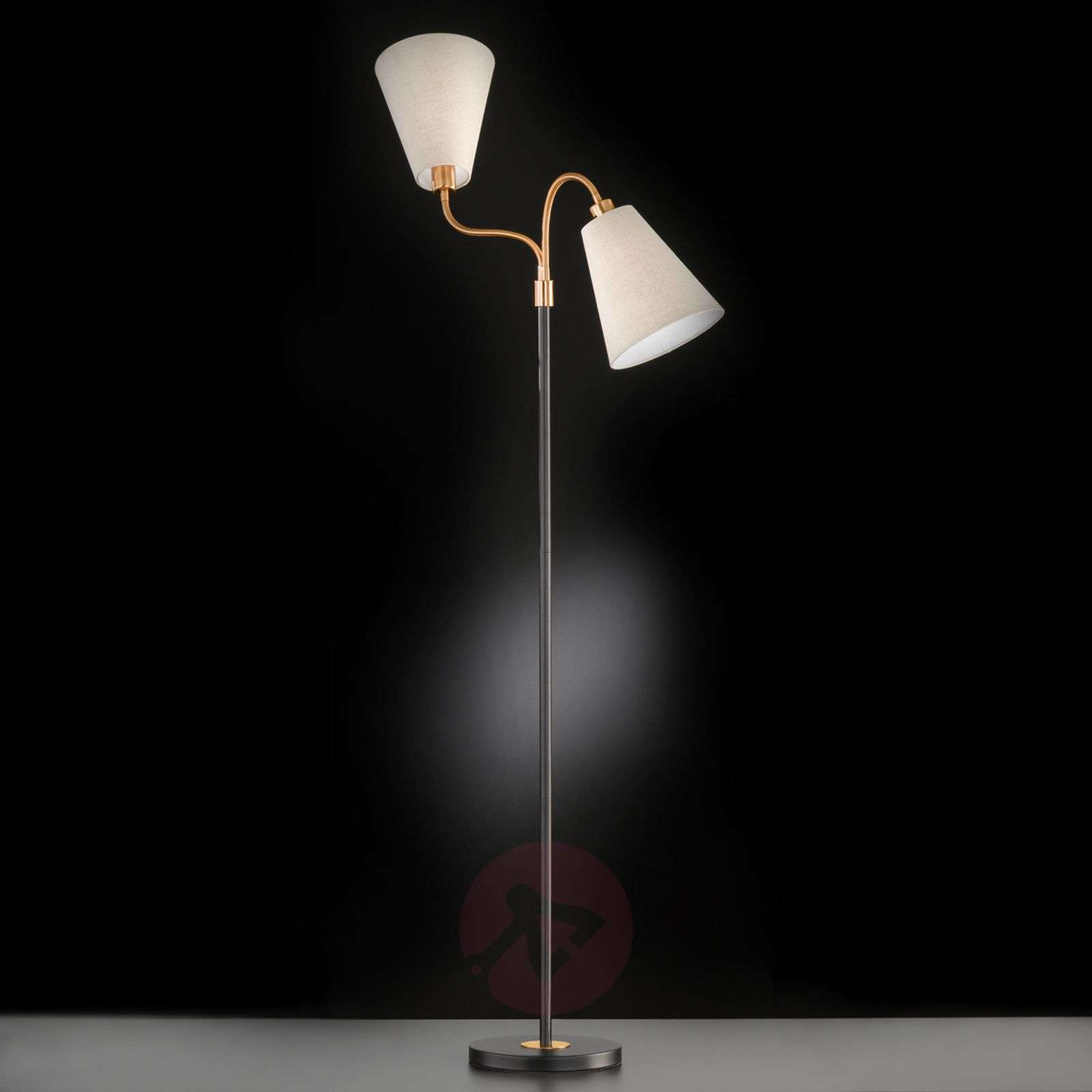 Hopper two bulb floor lamp blackbronze lights hopper two bulb floor lamp blackbronze 4581236 01 aloadofball Choice Image