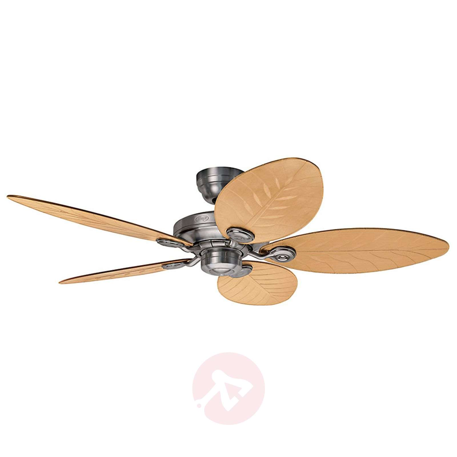 Hunter Outdoor Ceiling Fans With Lights: Hunter Outdoor Elements II Ceiling Fan Rattan