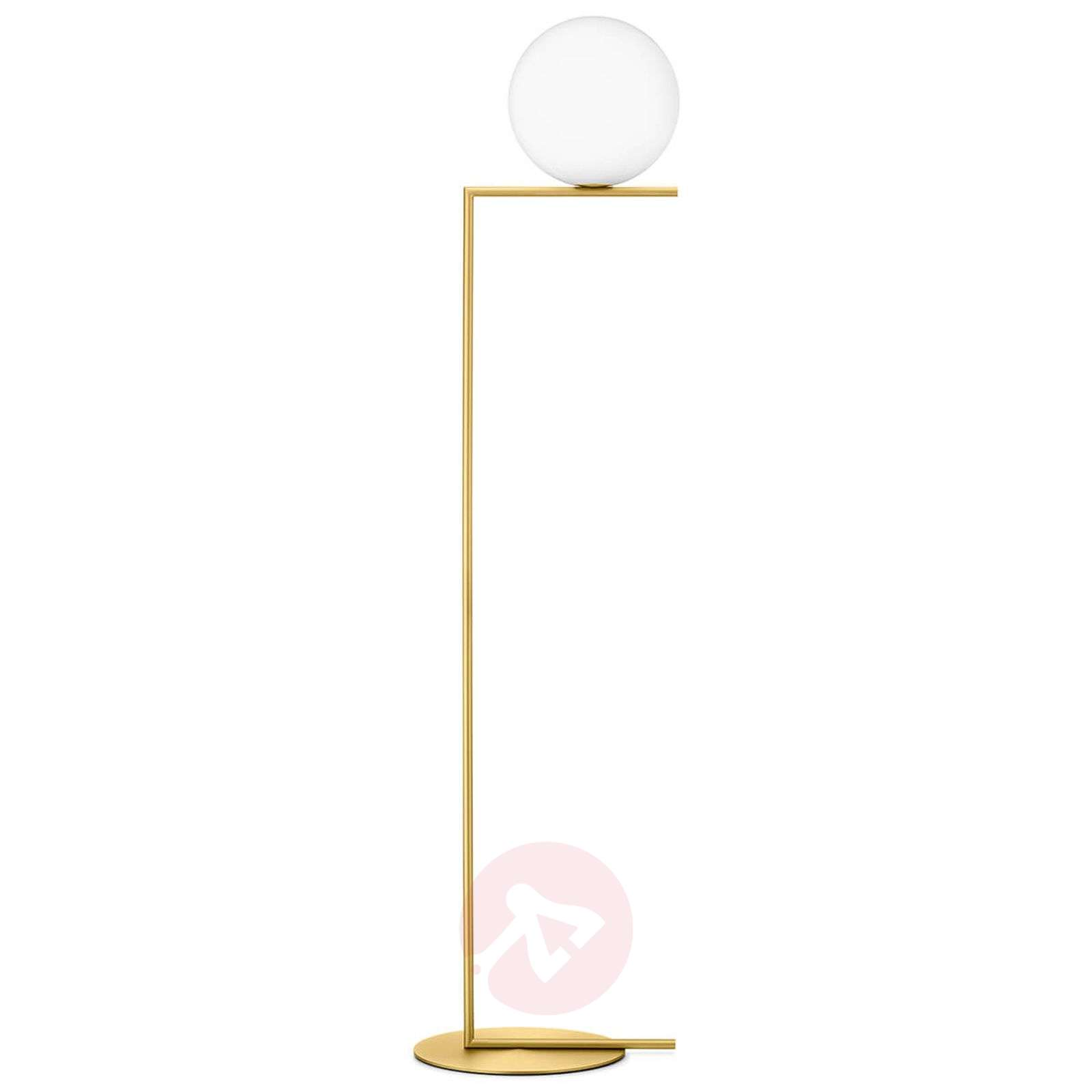 Ic F2 Brass Floor Lamp By Flos Lights Co Uk