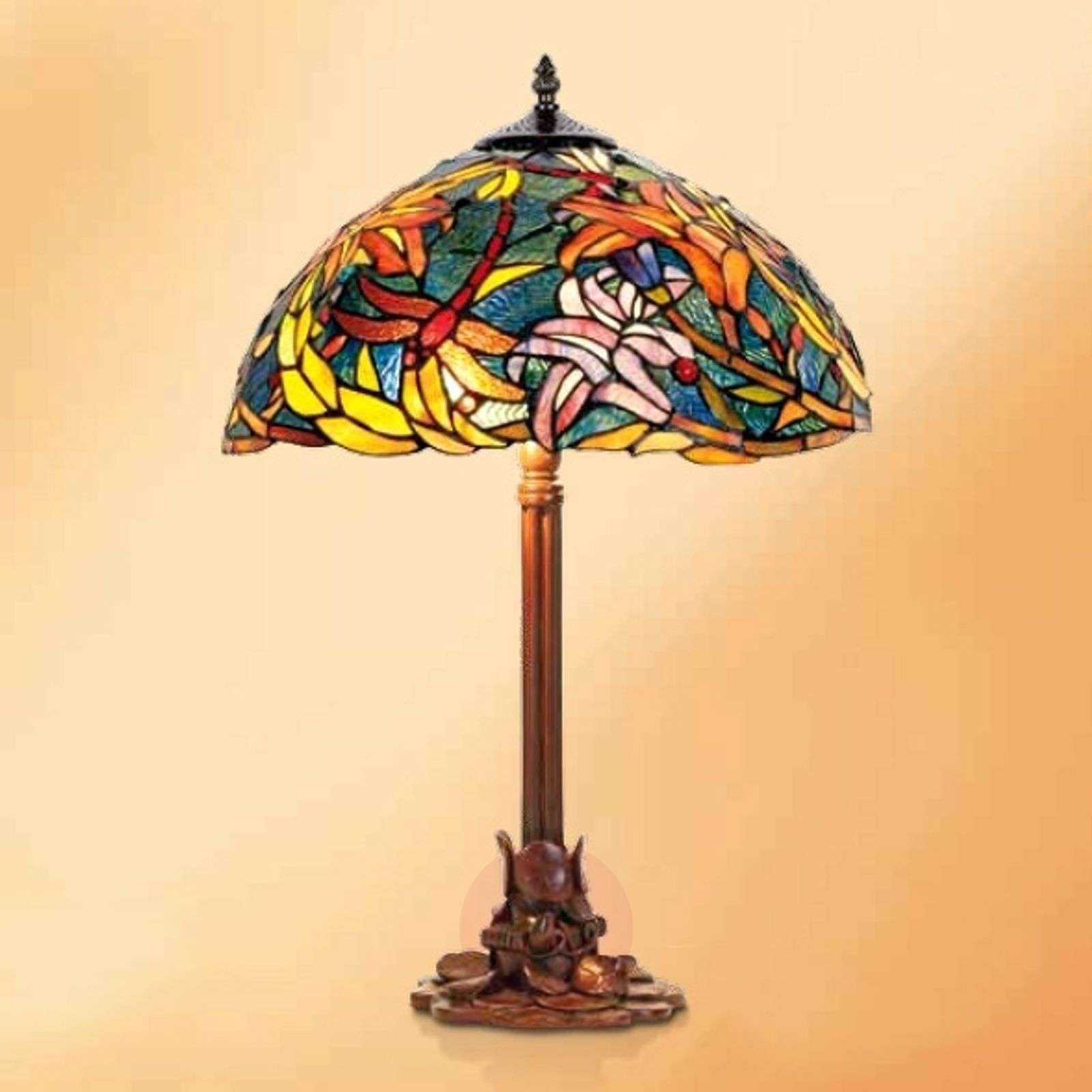 Impressive table lamp Miley, Tiffany style-1032275-01