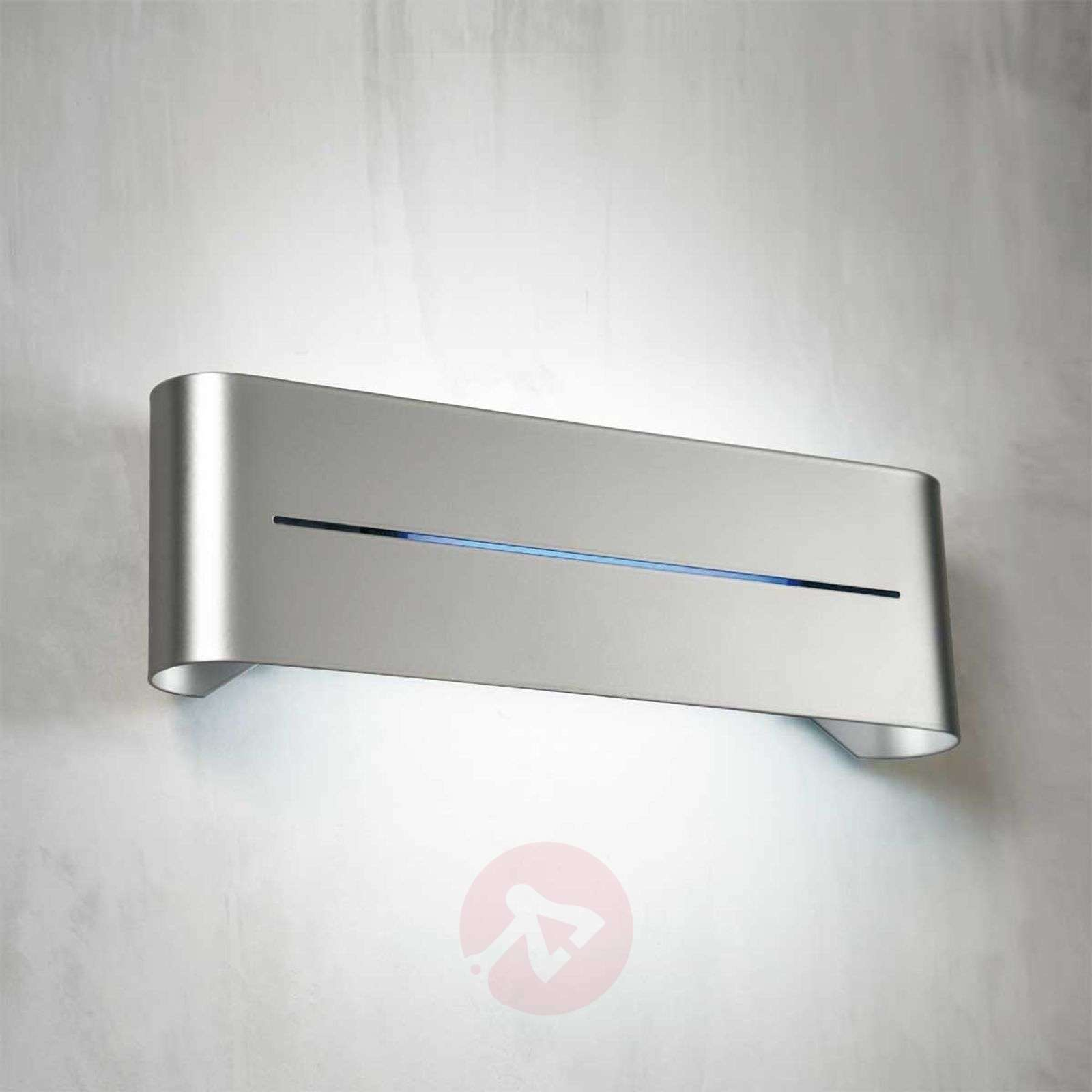 Limbo Wall Light Chrome : Indirect wall light Limbo, E27 38 cm Lights.co.uk
